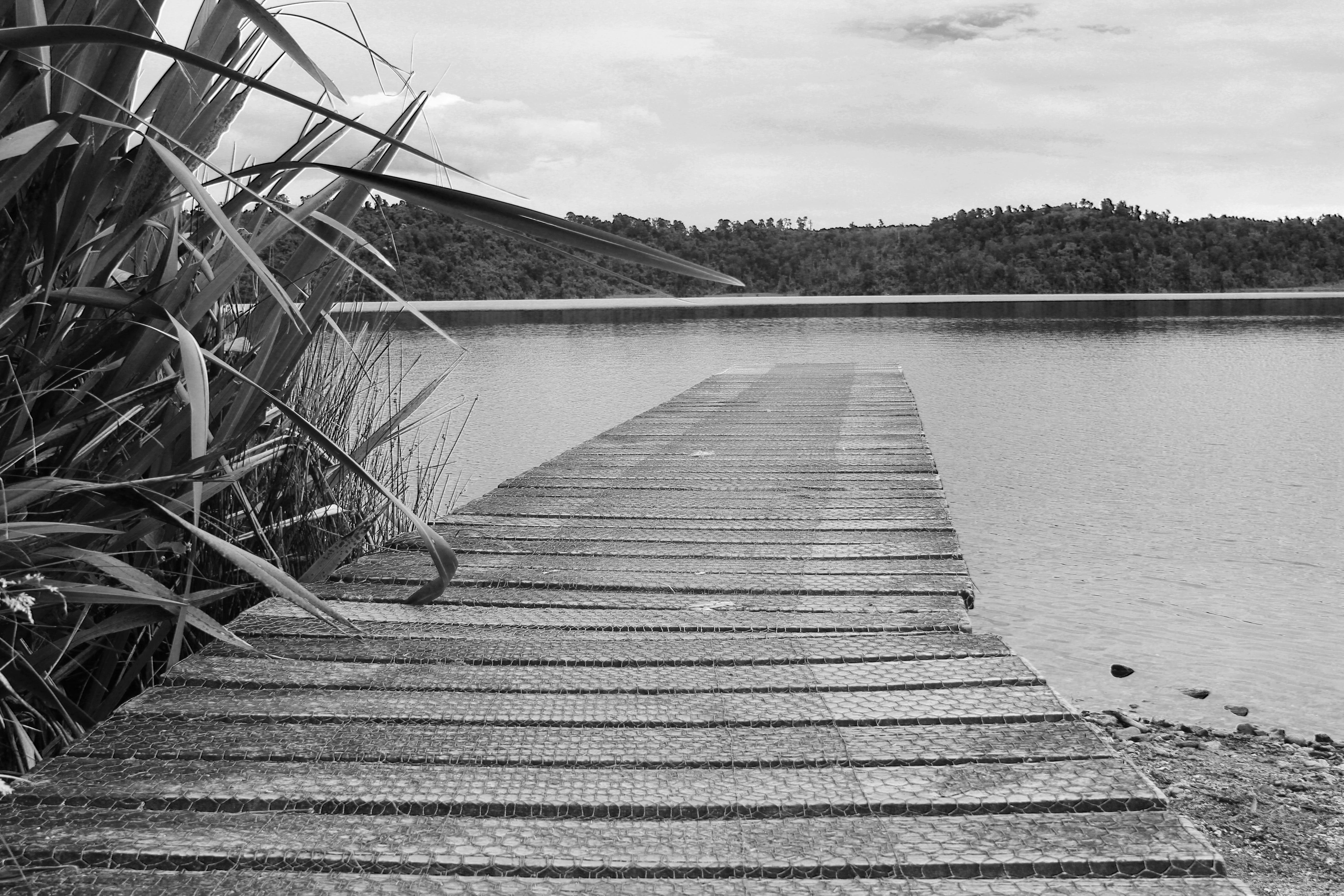 фото черно белые пристань зрительную память