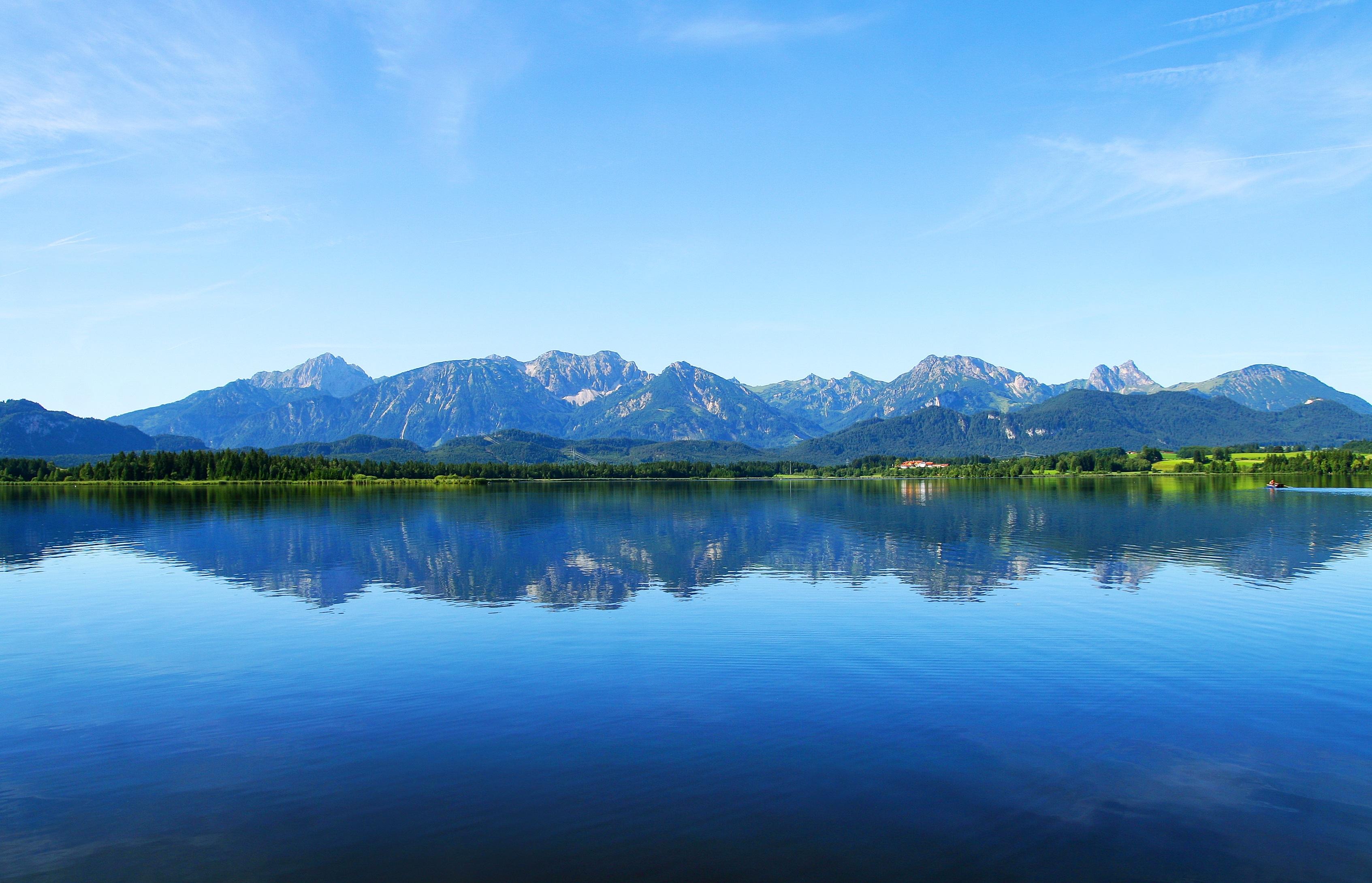 Gambar : pemandangan, gunung, pagi, Pegunungan, Panorama ...