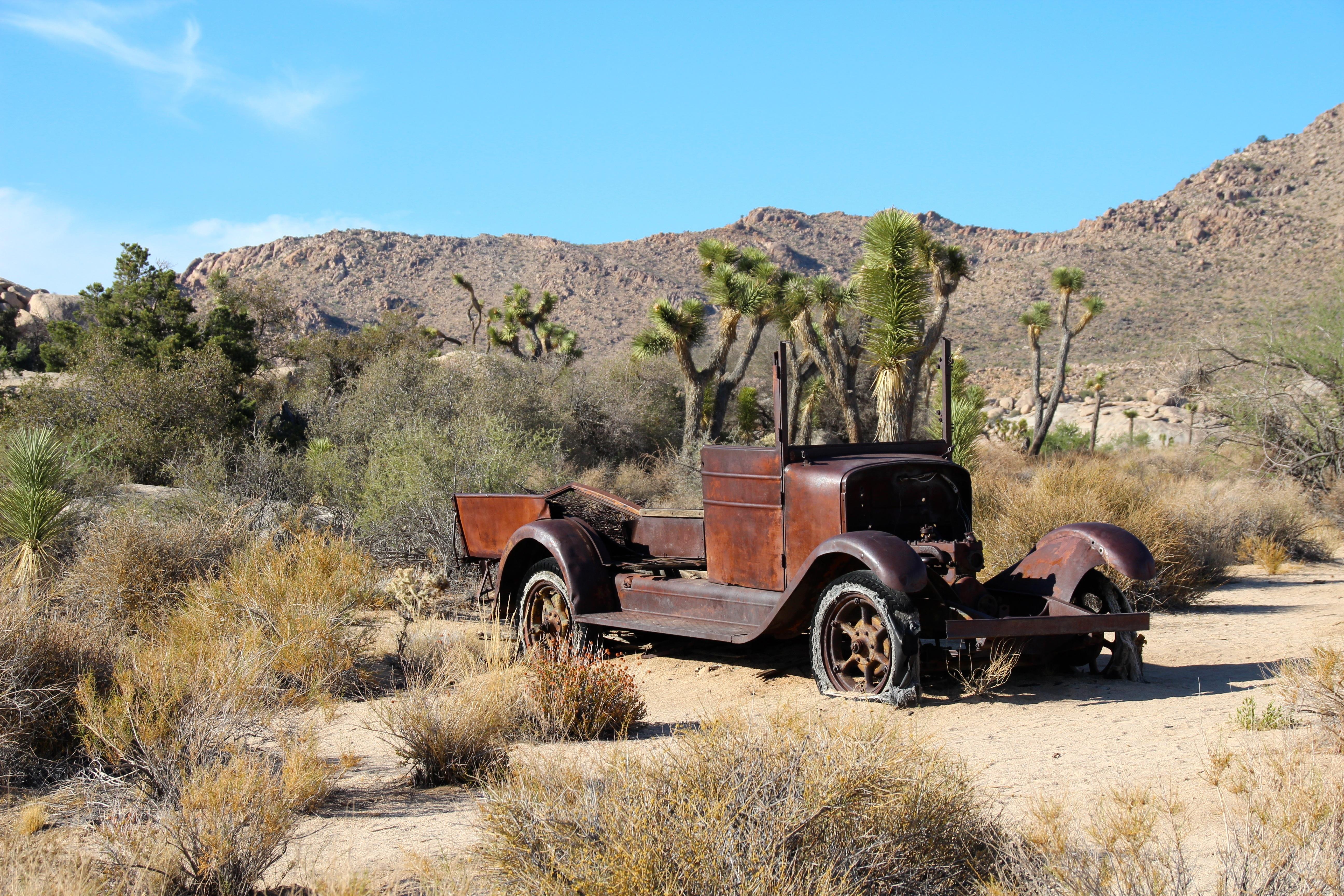 Free Images : landscape, wilderness, car, vintage, antique, desert ...