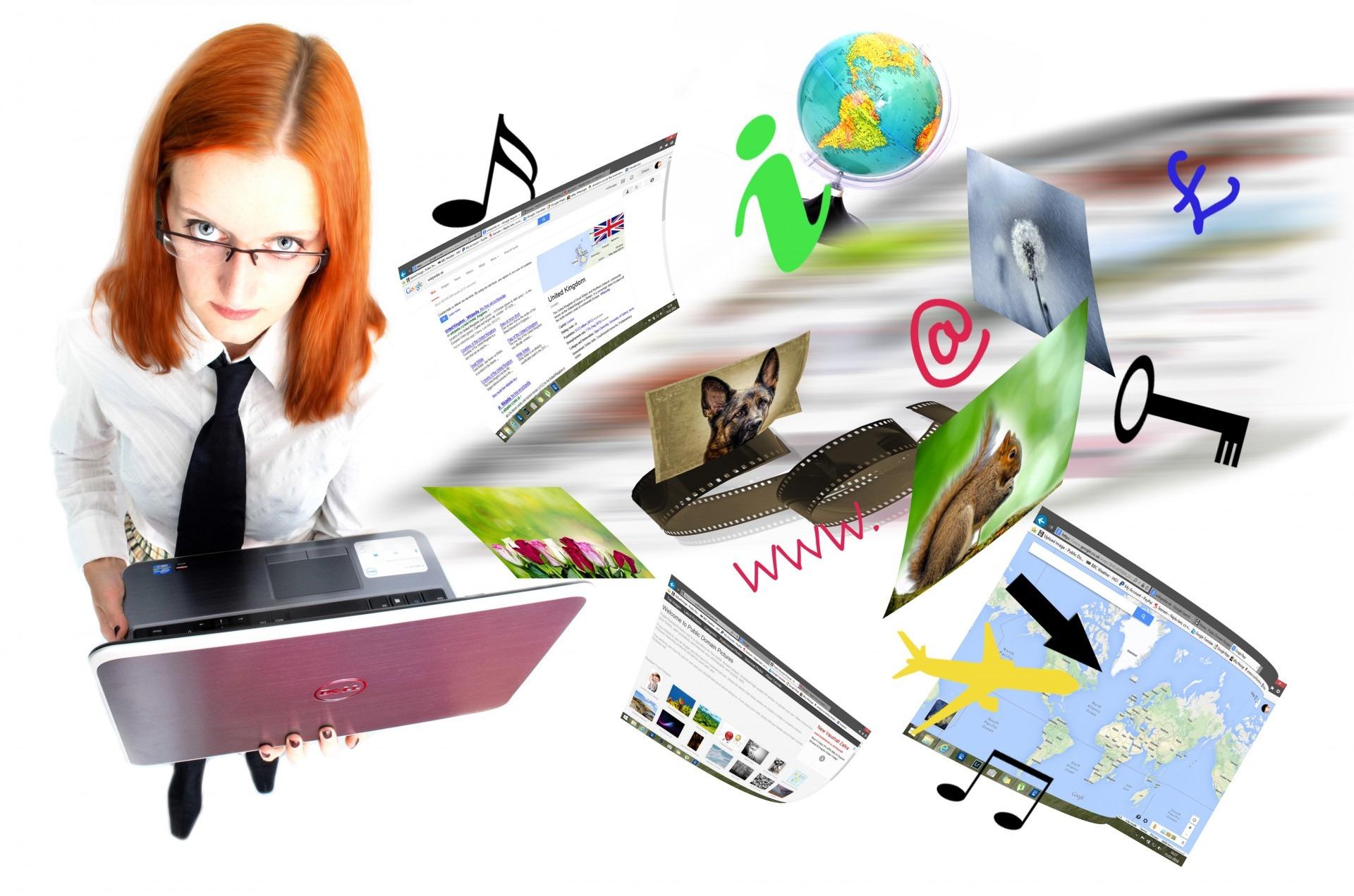 Gambar Laptop Komputer Musik Orang Orang Teknologi Bangunan