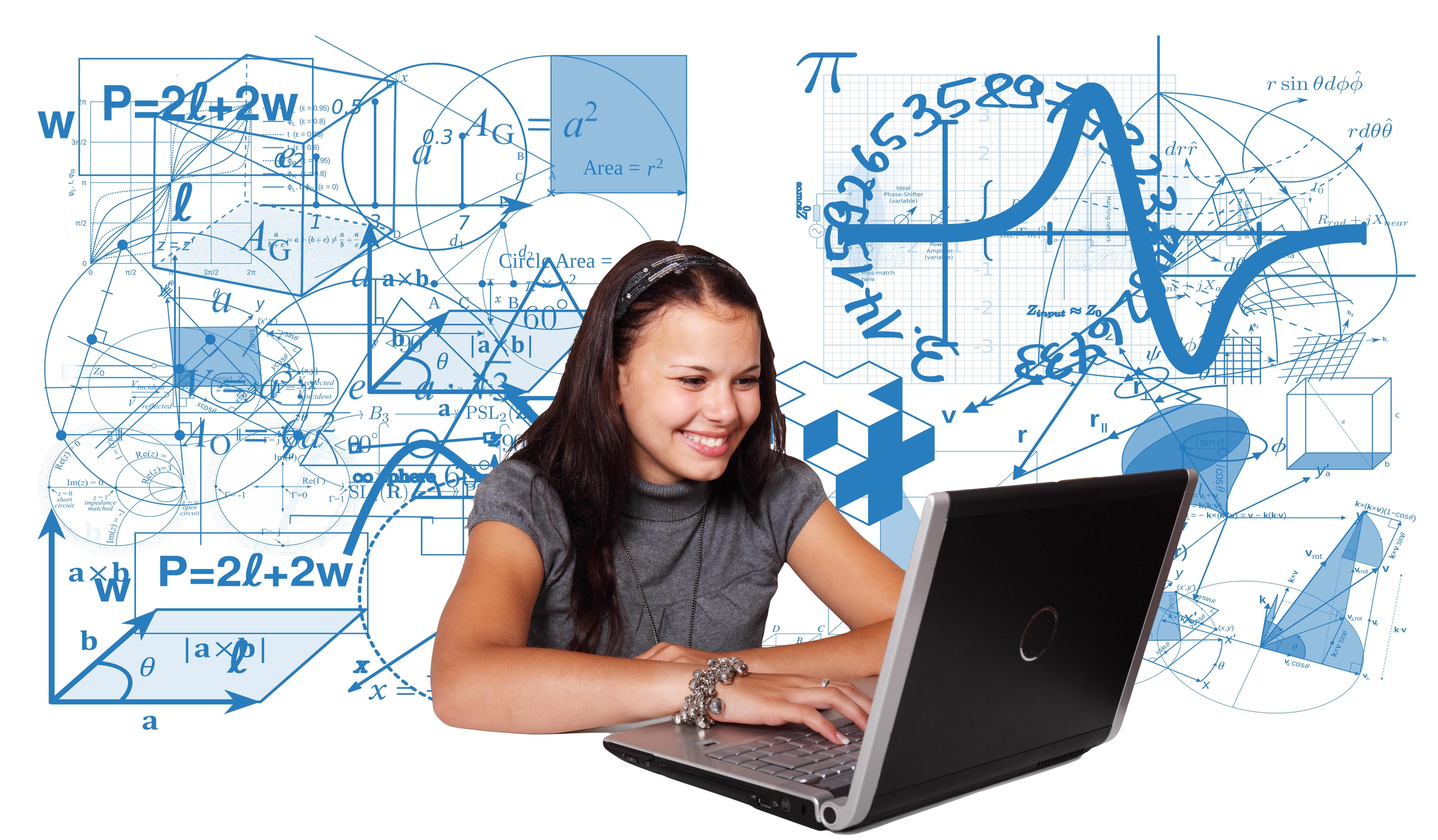 Gambar Laptop Komputer Penulisan Naik Gadis Teknologi Simbol