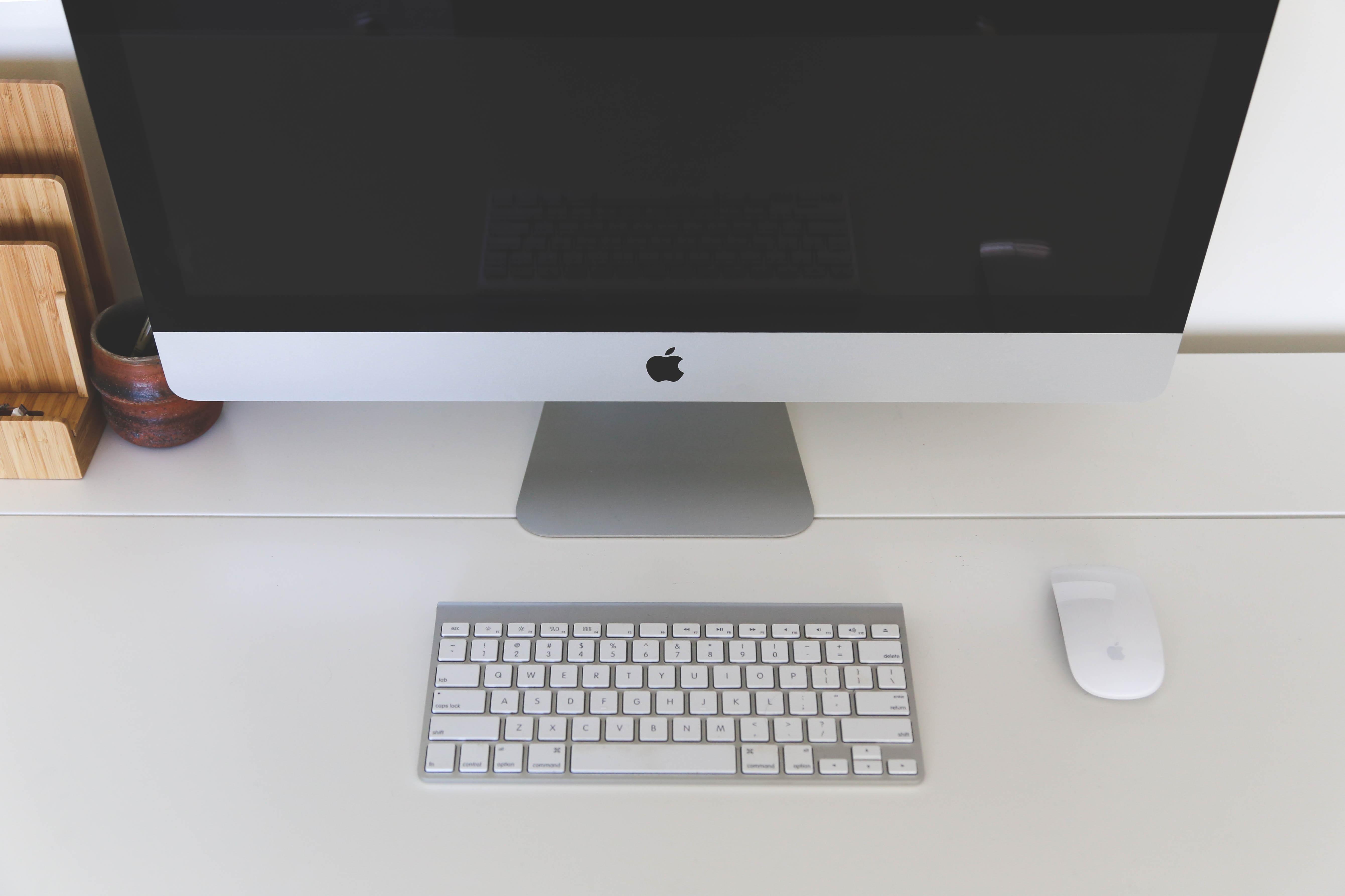 Images gratuites portable ordinateur mac table clavier la
