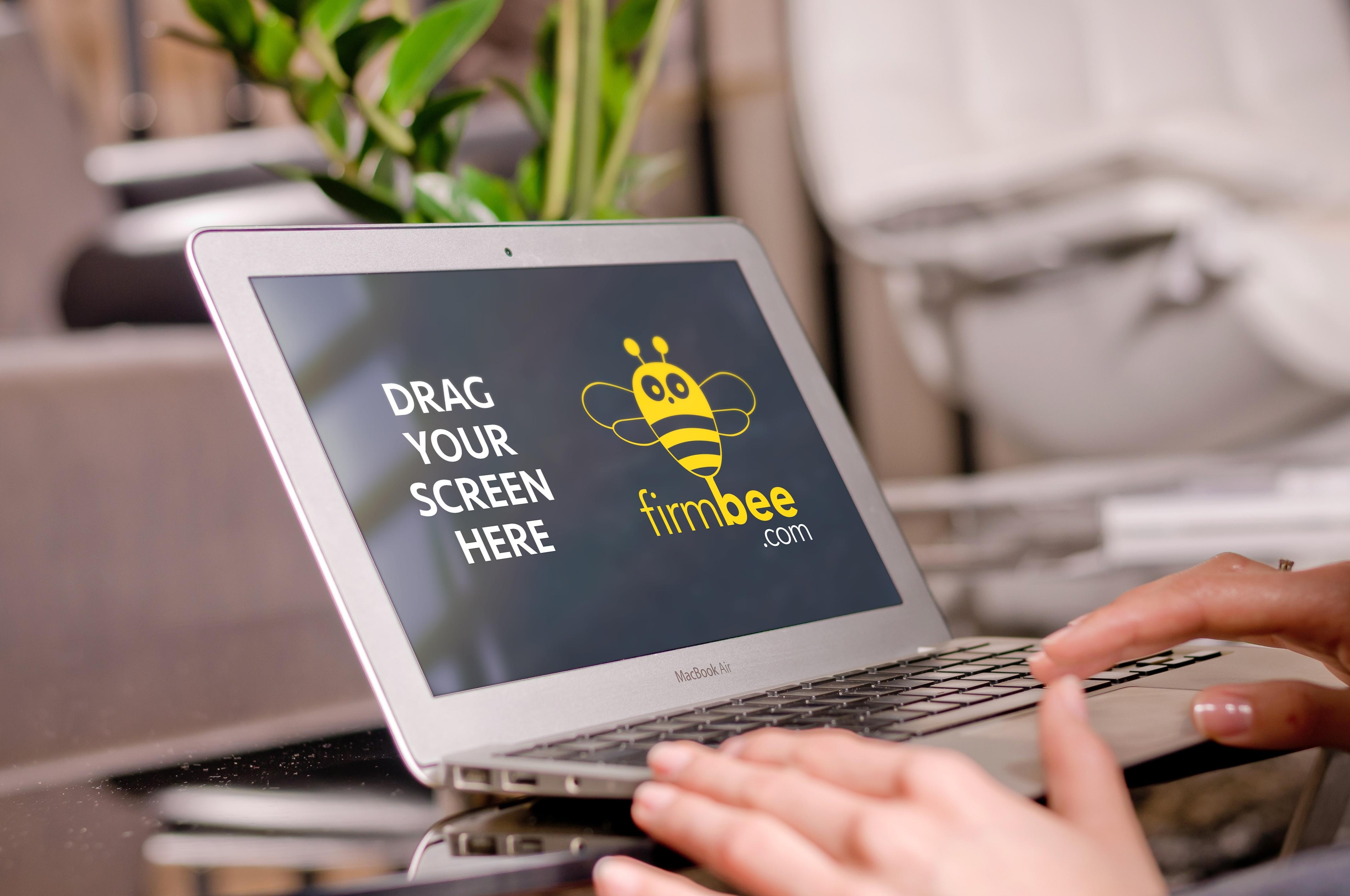 Gambar Laptop meja tulis komputer Mac penulisan kerja tangan apel orang Notepad perusahaan uang kantor alat profesional merek kas bank