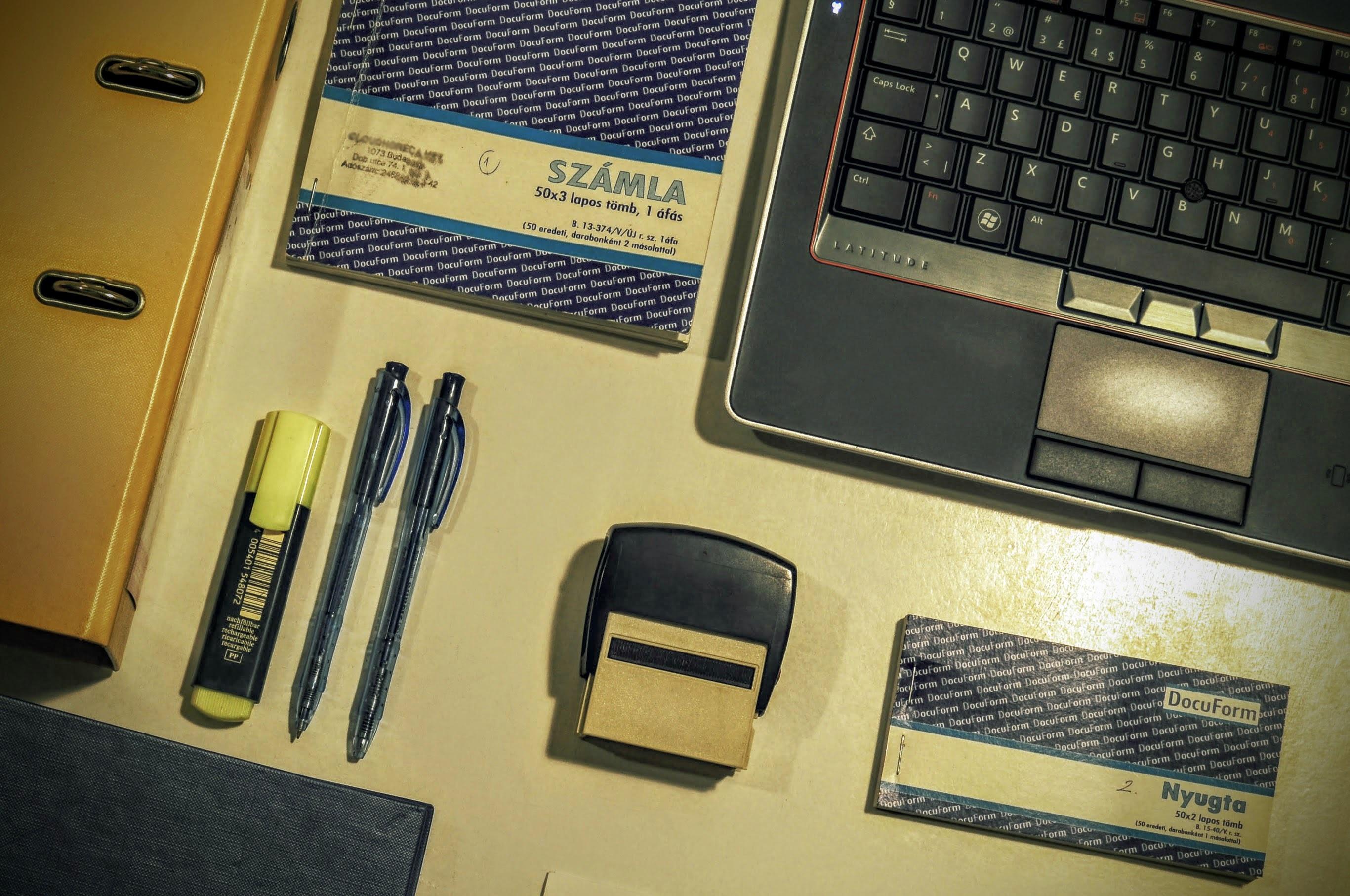 free images laptop desk keyboard technology pen office