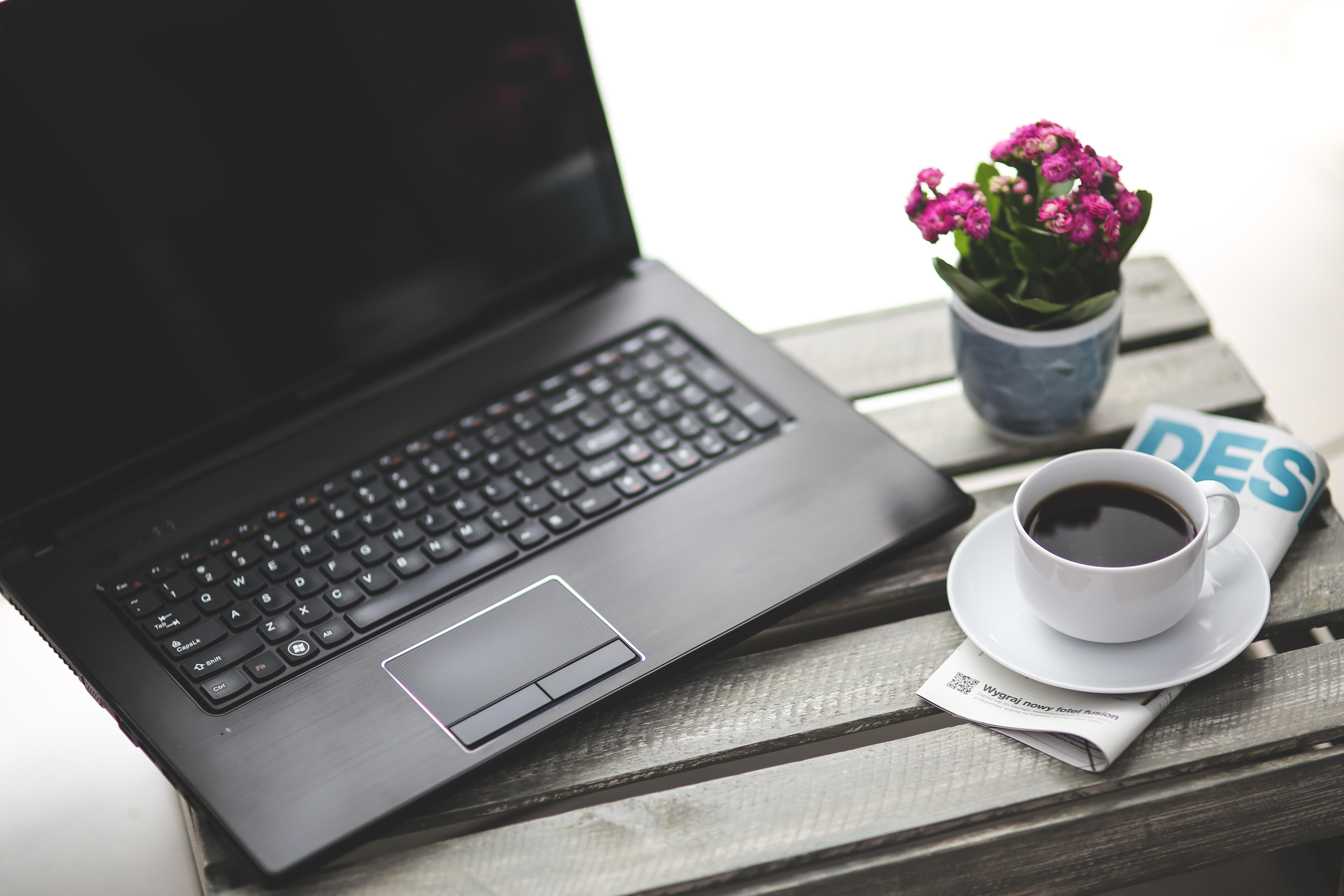 кофе мышь компьютерная чашка черная  № 2175194  скачать
