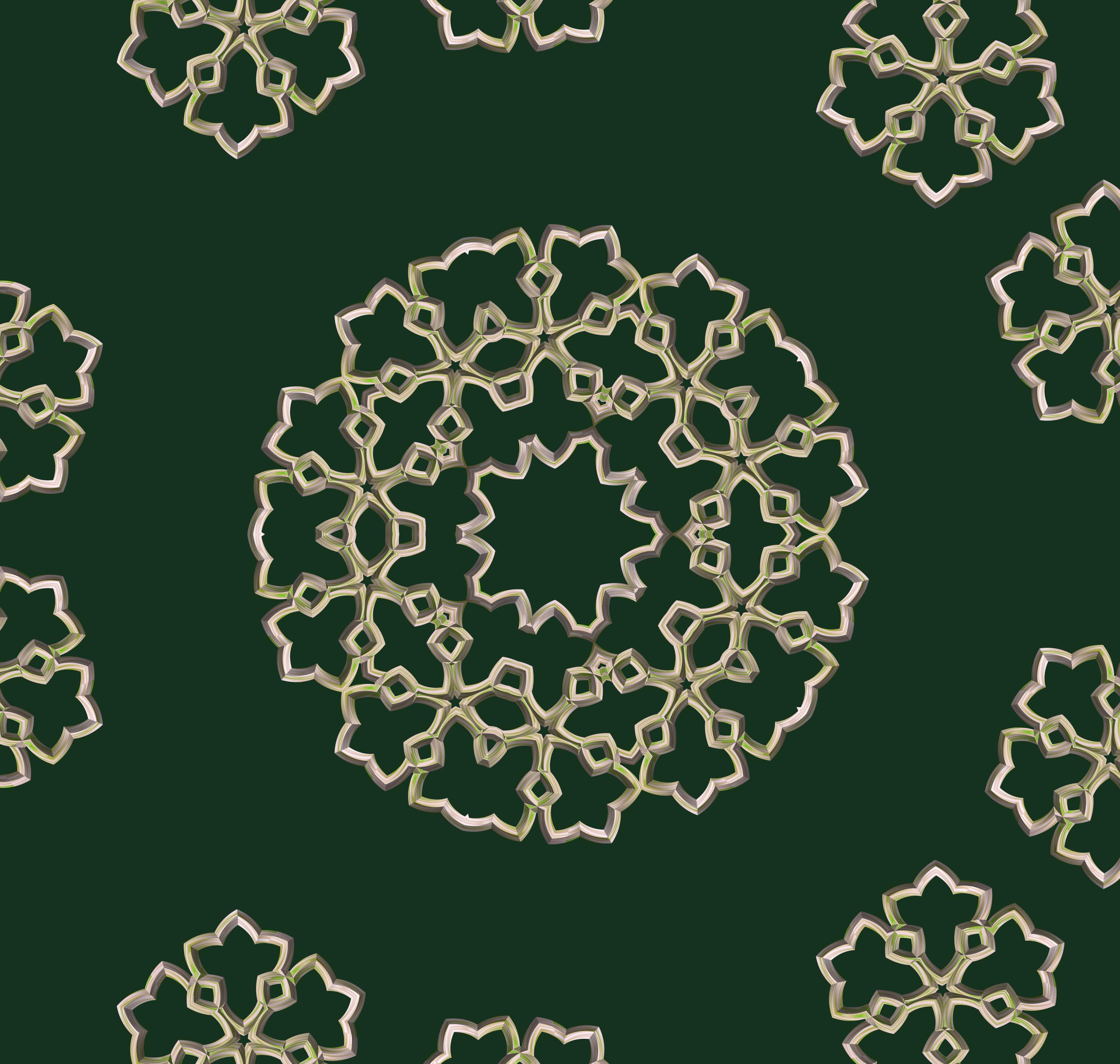 Fotos gratis : hoja, patrón, línea, circulo, diseño, simetría ...