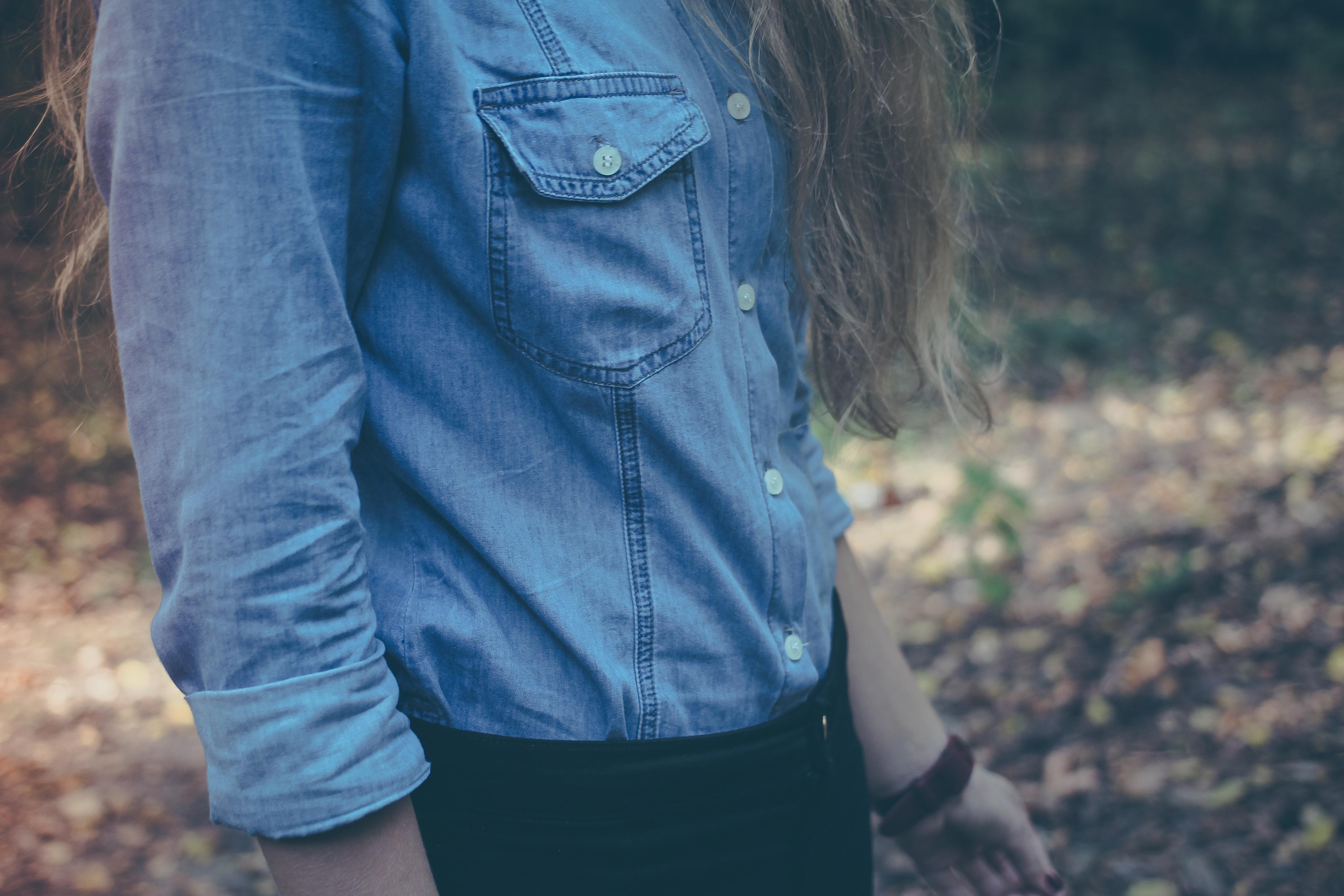 Free Images : leather, model, jeans, spring, fashion, blue ... Denim Jacket Photography