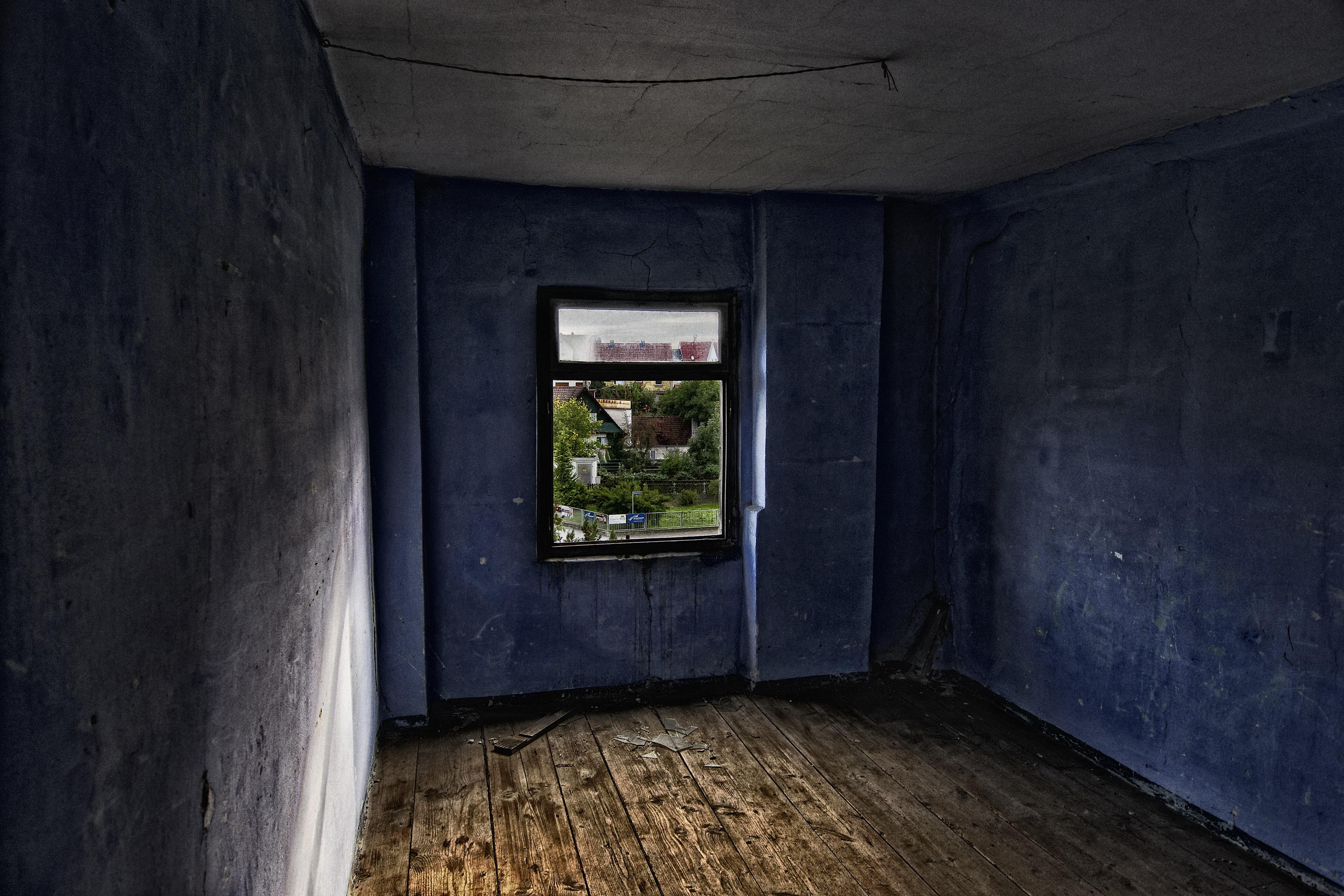 Old Dark Room Background