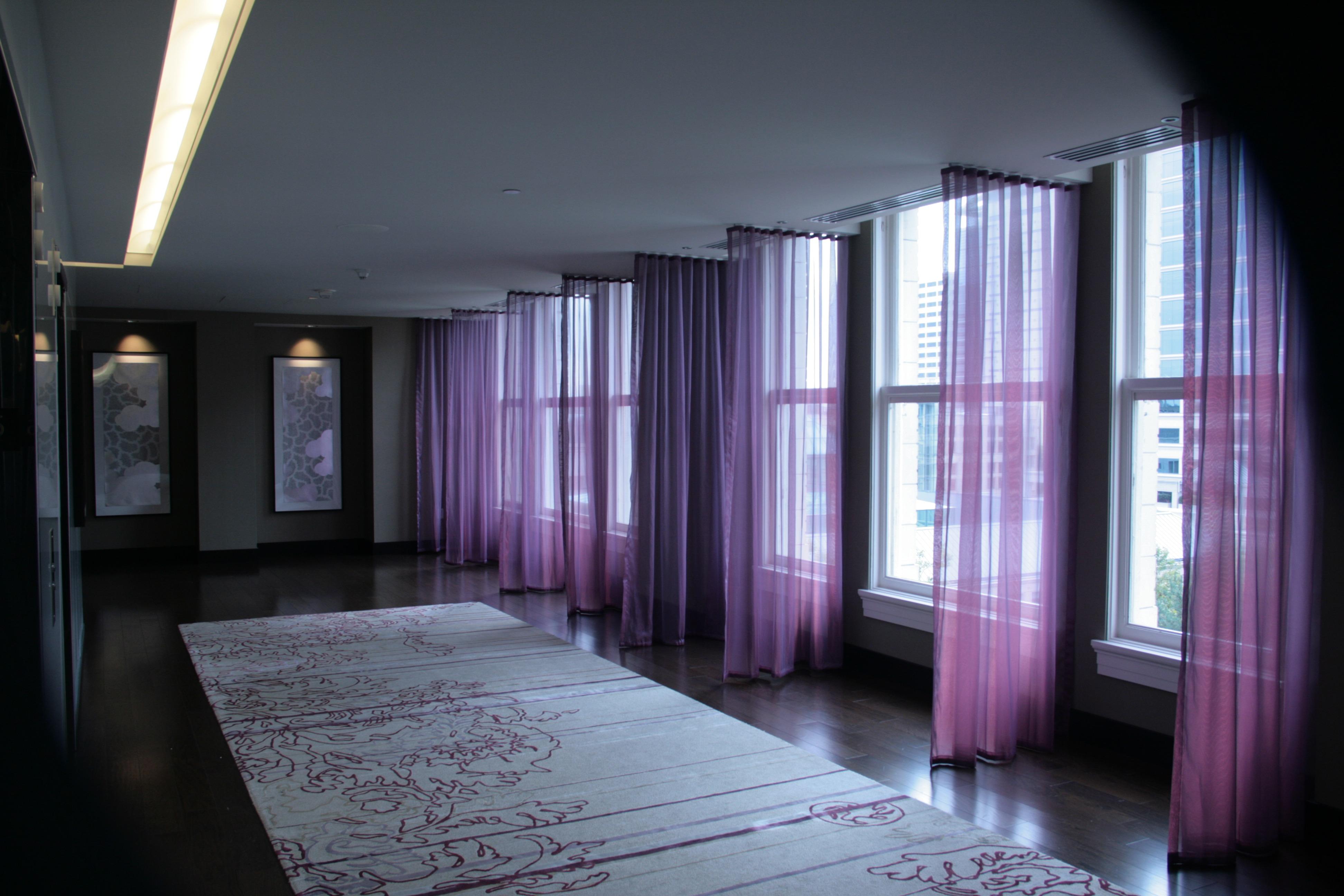 Gambar Cahaya Arsitektur Rumah Ungu Aula Warna Kegelapan