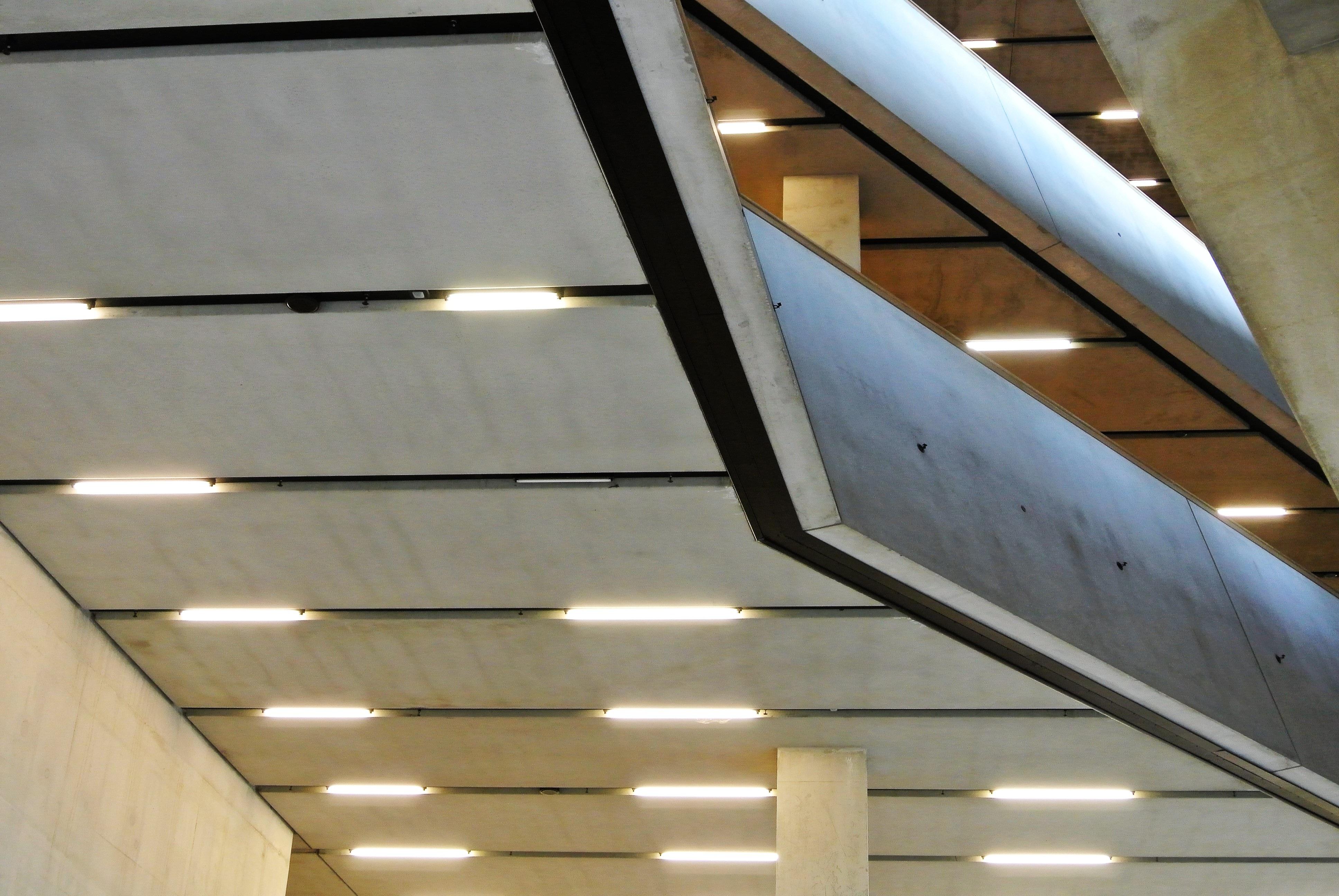 Free Images Light Architecture Roof Beam Ceiling Facade Lighting Modern Concrete Plain Interior Design Handrail Brutal Daylighting Baluster Window Covering Sleek 3872x2592 1170518 Free Stock Photos Pxhere