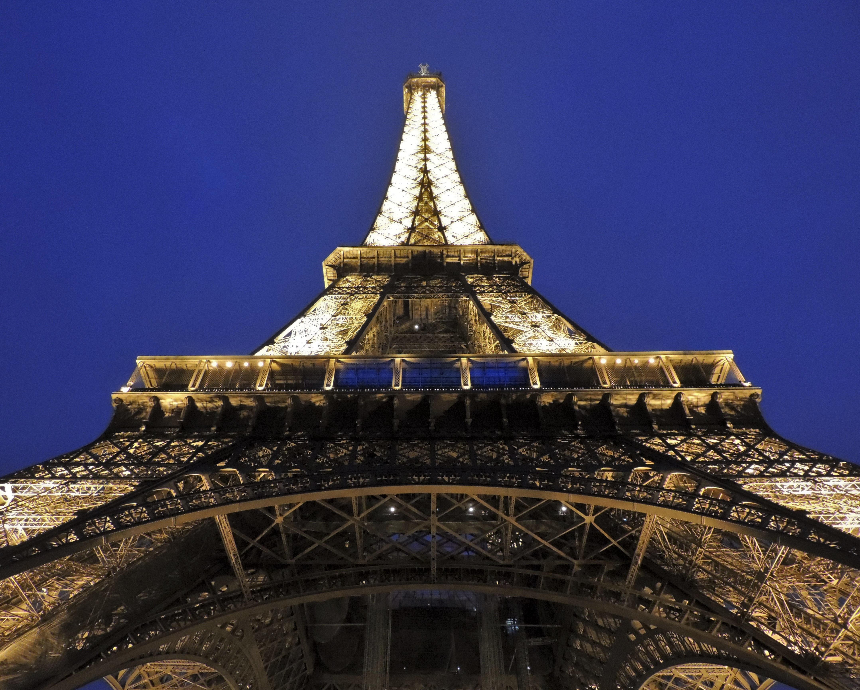 Images gratuites lumi re architecture ciel nuit - Tour eiffel photos gratuites ...