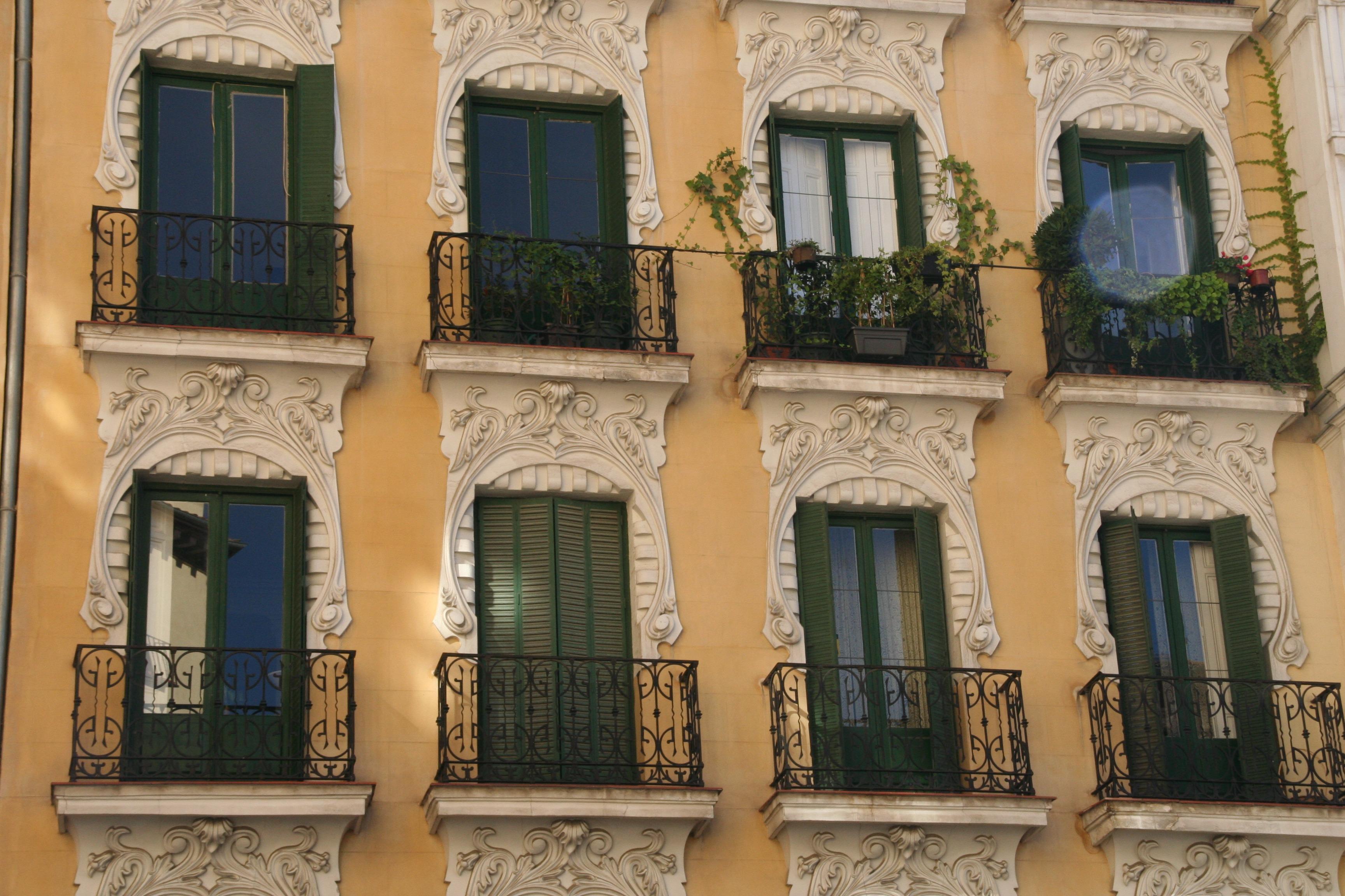 Images gratuites lumi re architecture le coucher du for Balcon facade maison