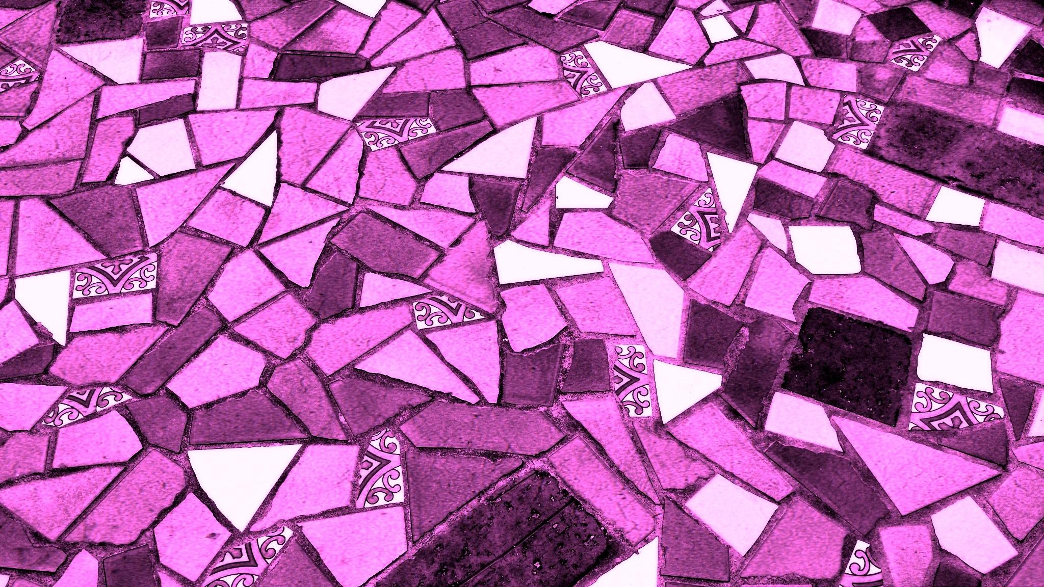Vintage Retro Texture Purple Petal Interior Old Home Wall Decoration Construction Pattern Line Geometric Color Natural Square Paint