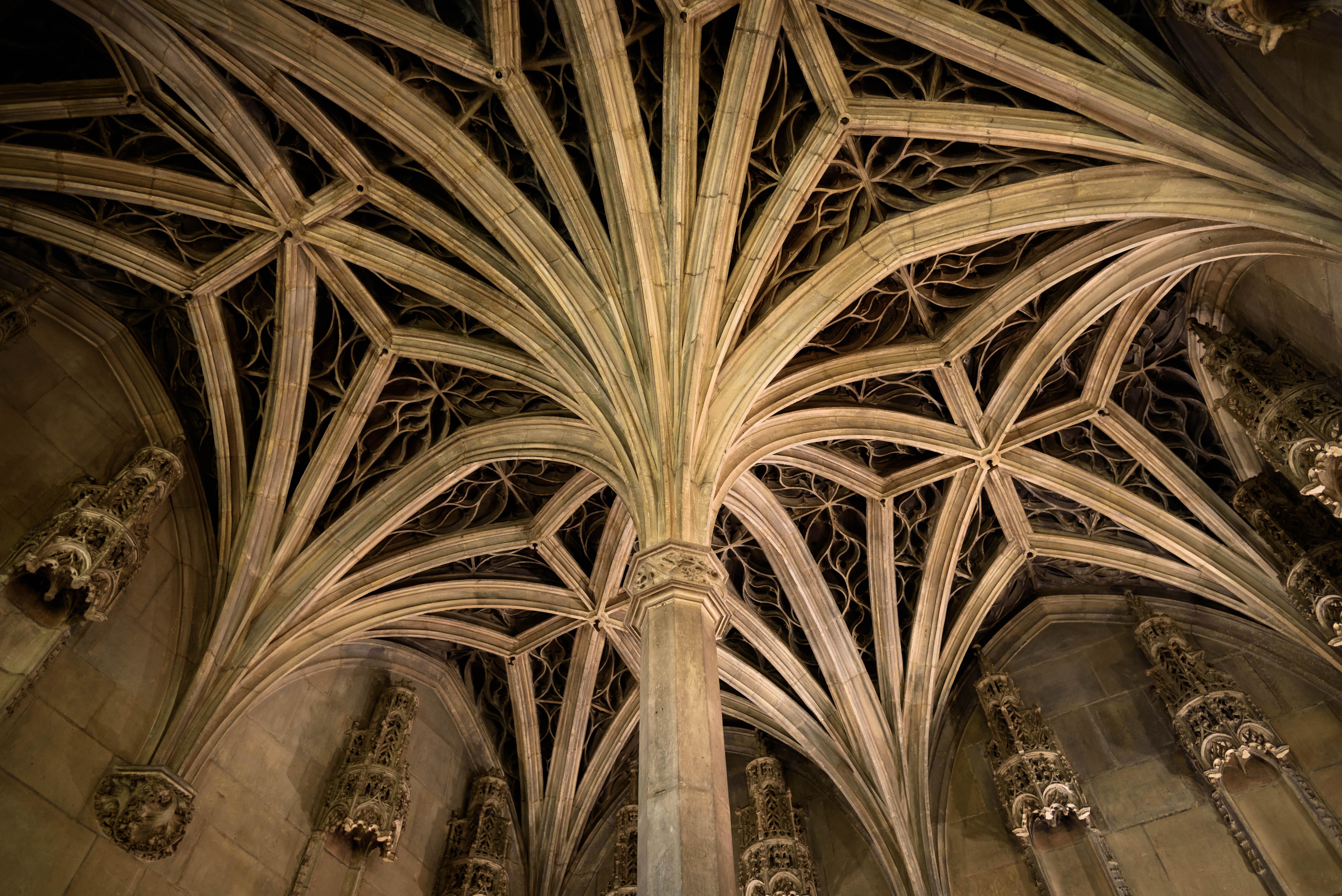 Free Images Light Architecture Wood Paris France Arch Ceiling Column Museum Cathedral Chapel Nikon Places 2015 Art Arches Pillars