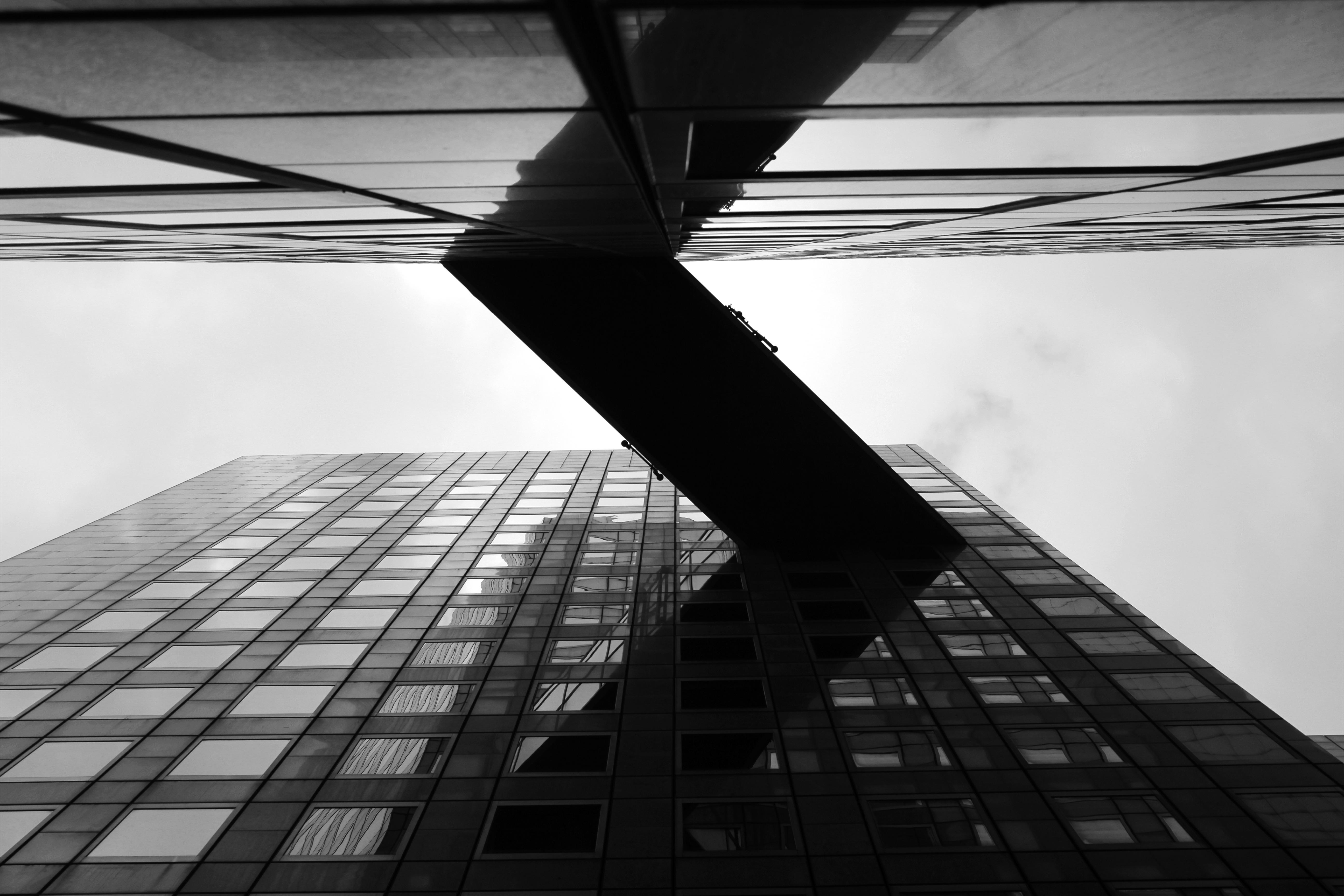 Images gratuites noir et blanc architecture ciel for Architecture noir et blanc