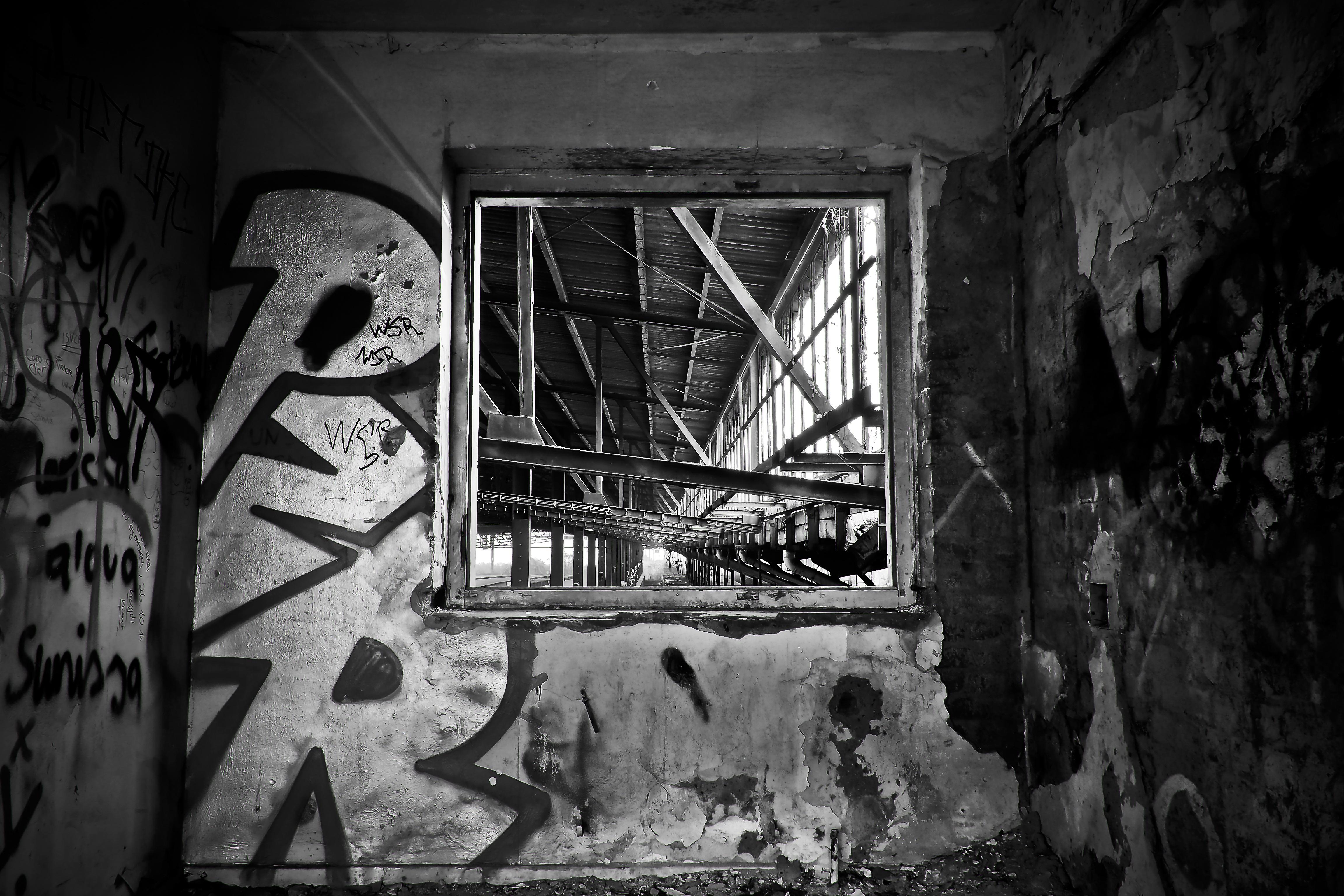Images gratuites lumi re noir et blanc architecture for Fenetre noir et blanc