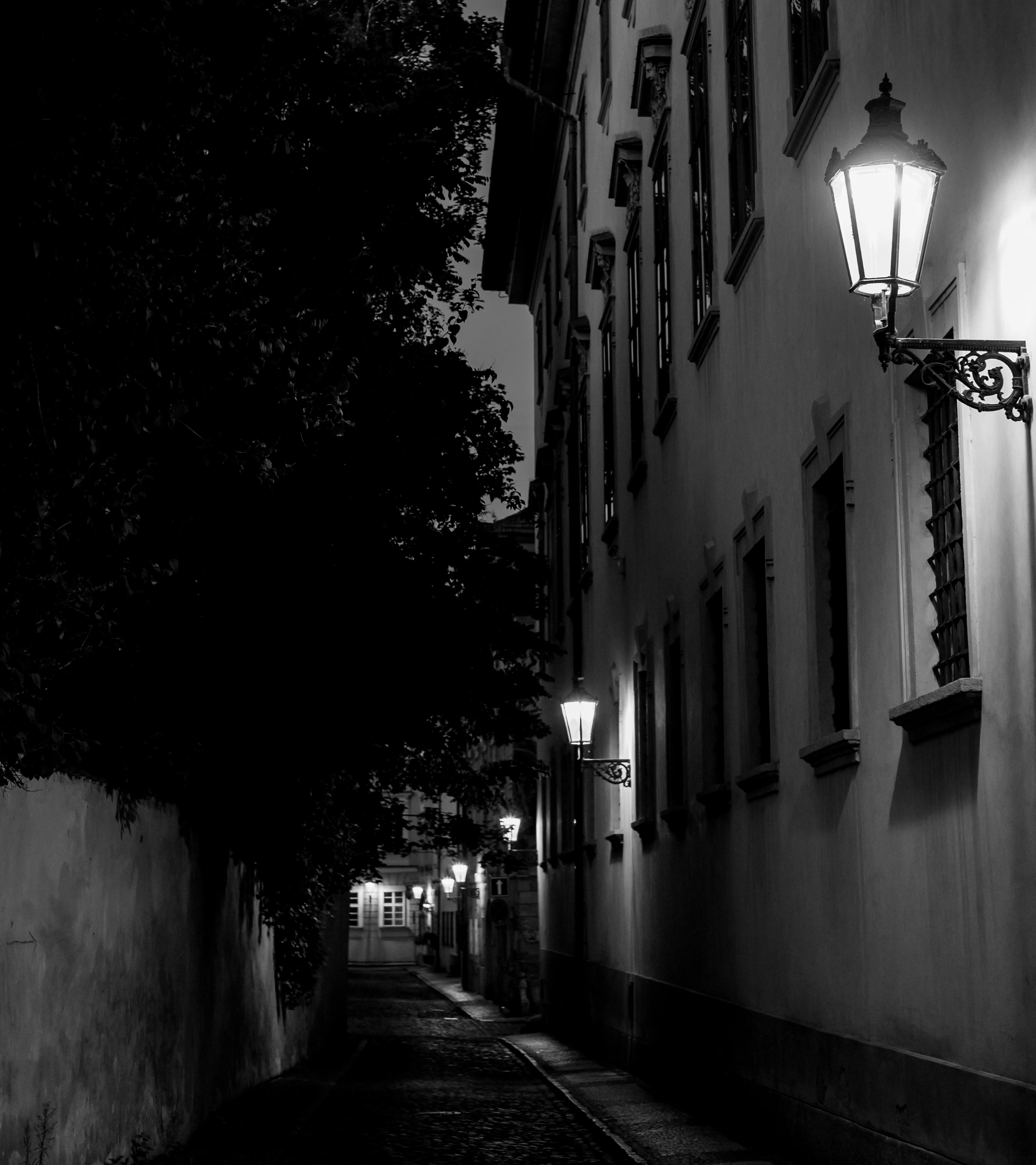 Улица фонарь картинка