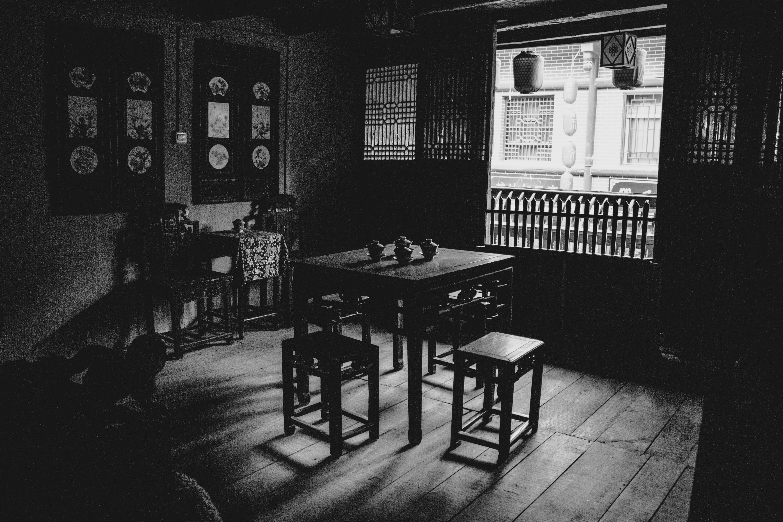 Gratis Afbeeldingen : licht, zwart en wit, huis, duisternis, kamer ...
