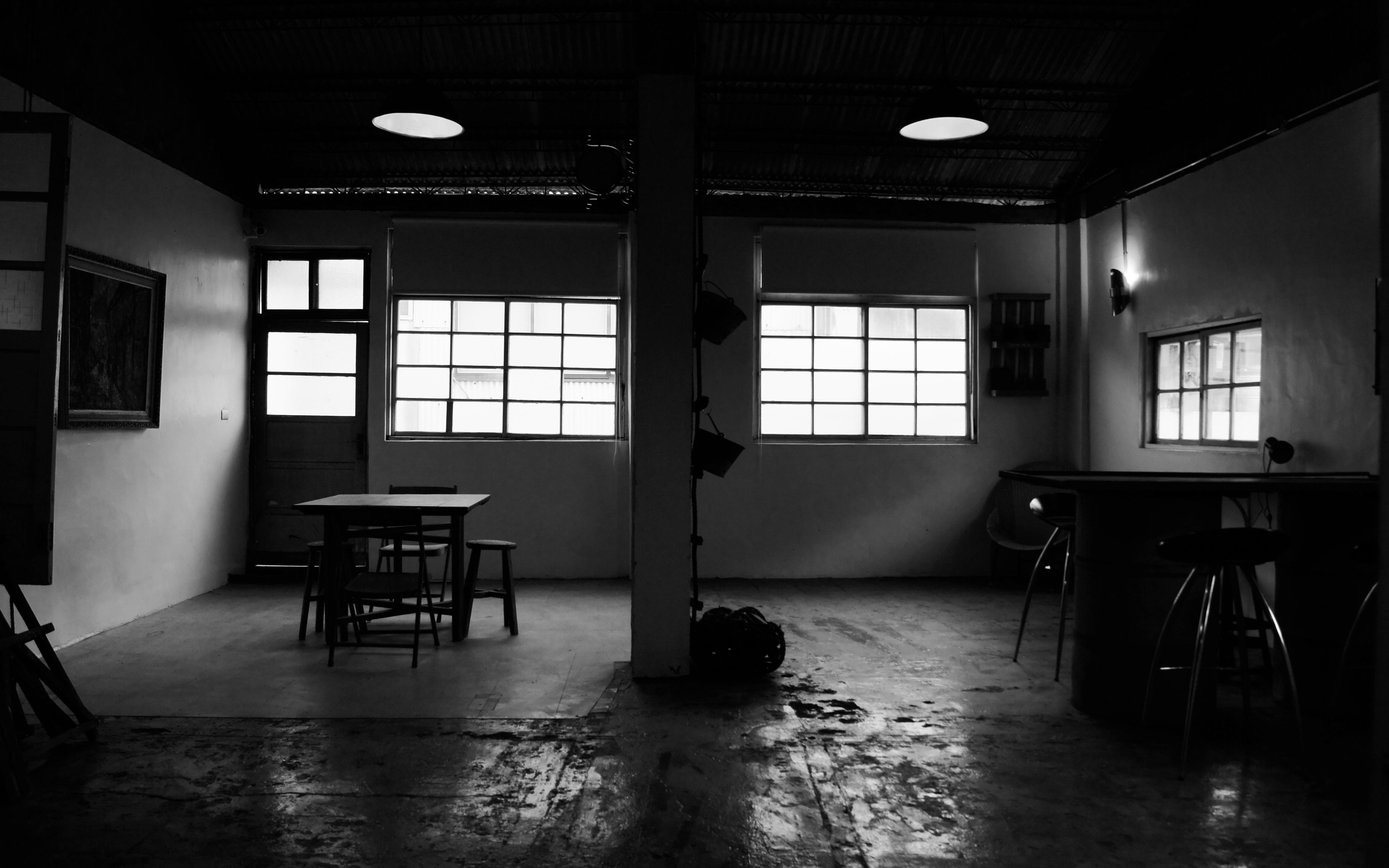 Fotos gratis ligero en blanco y negro casa color for Disenos de interiores en blanco y negro