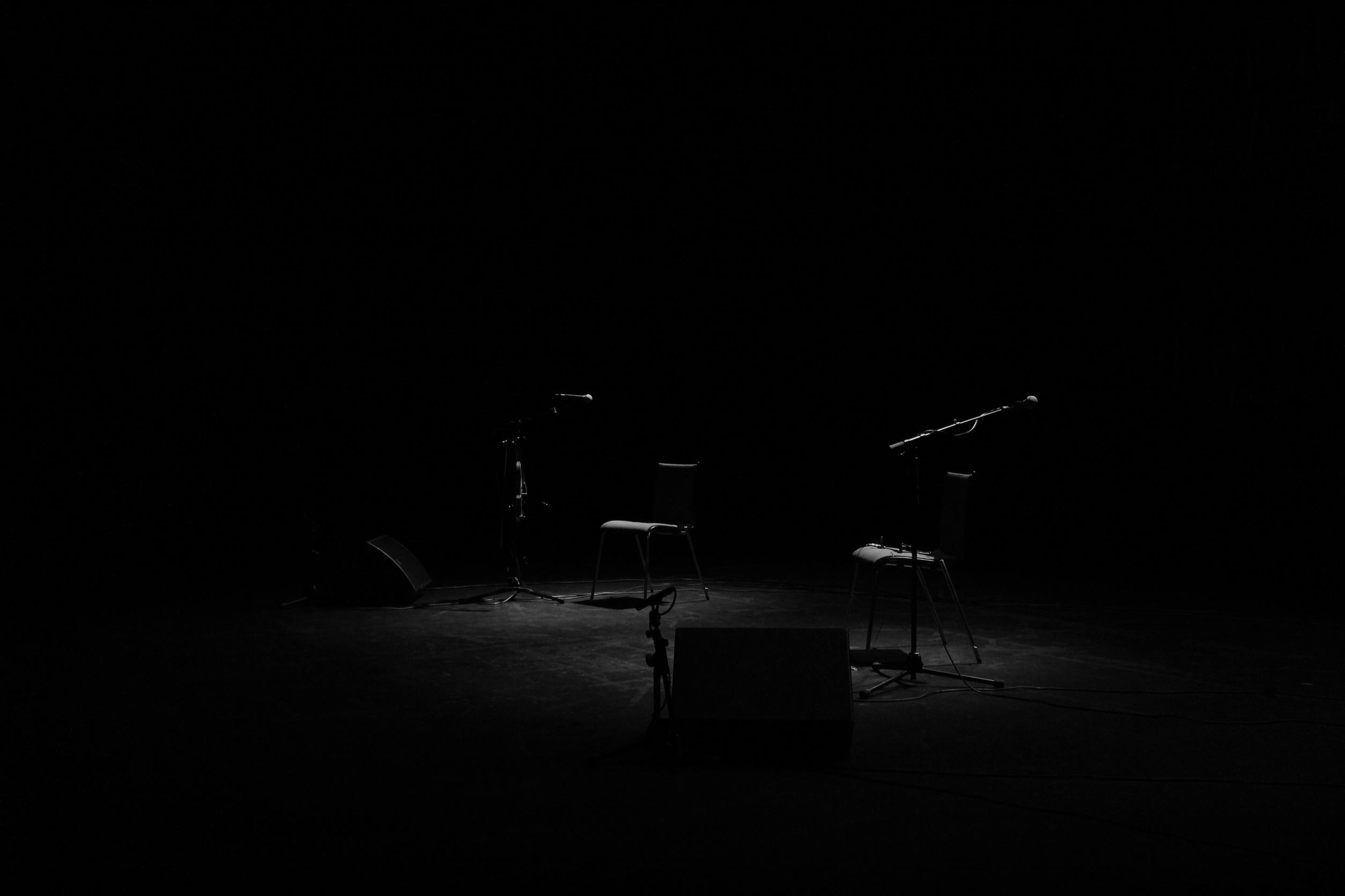 Light Black And White Night Atmosphere Dark Studio Darkness Empty Room Monochrome Lighting Chairs