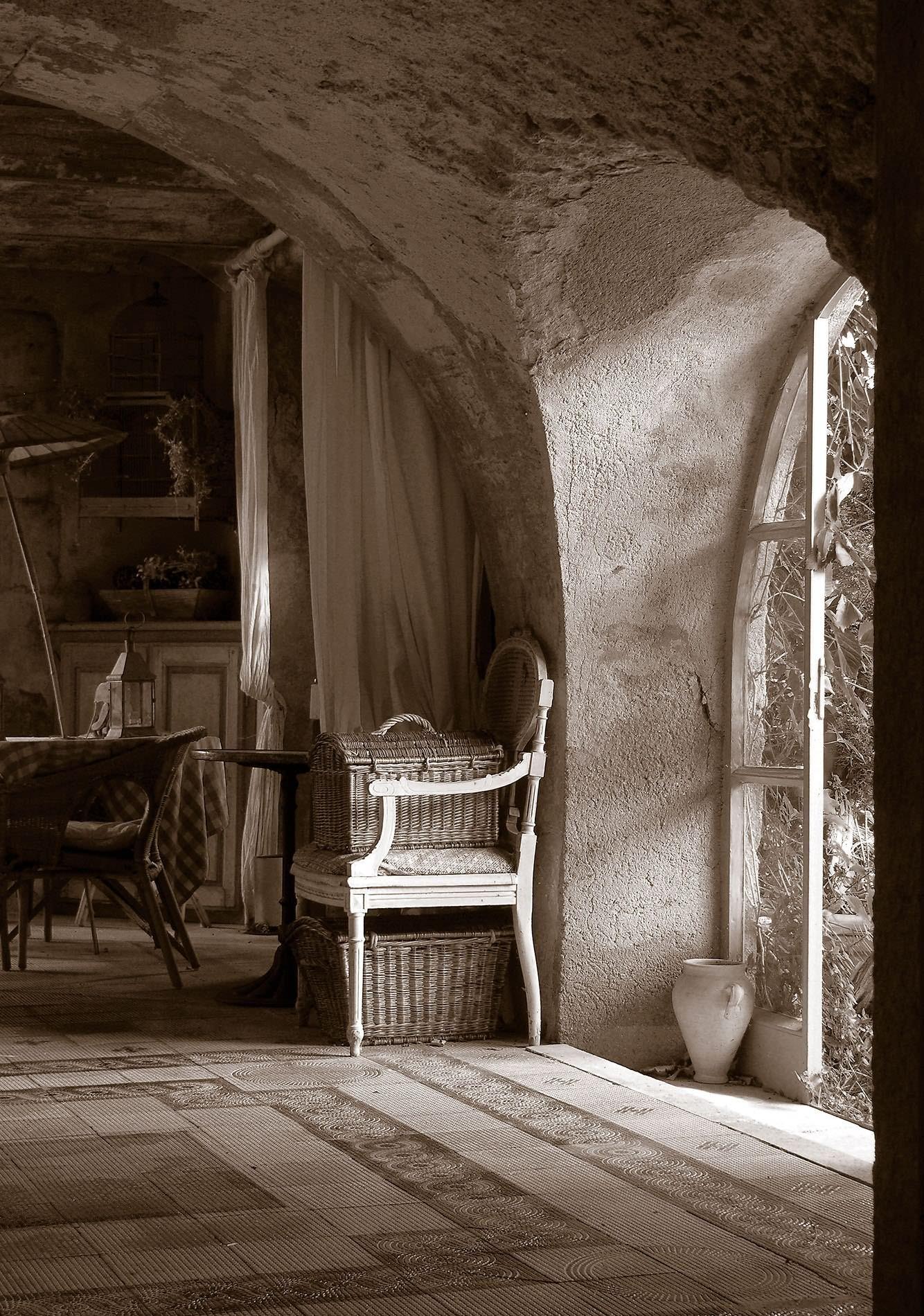 Gambar Cahaya Hitam Dan Putih Kayu Bangunan Dinding