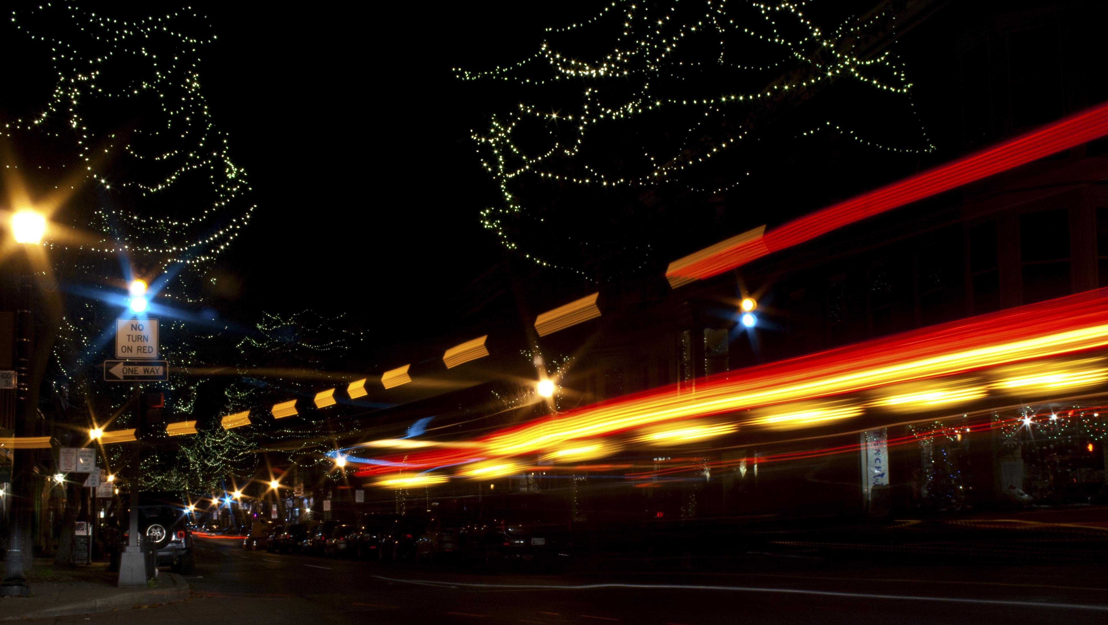 Fotos Gratis Ligero Difuminar Abstracto Arquitectura Noche