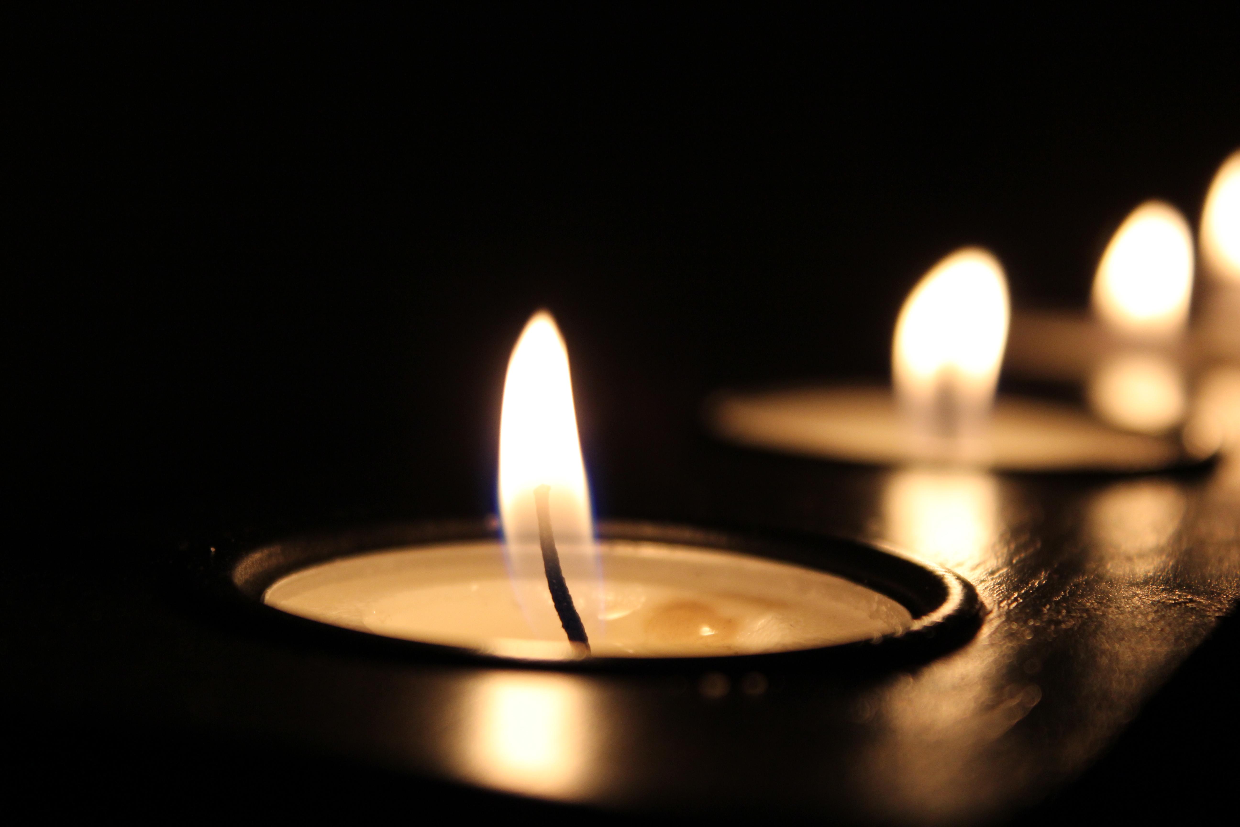 Free Images : light, blur, dark, celebration, flame ...