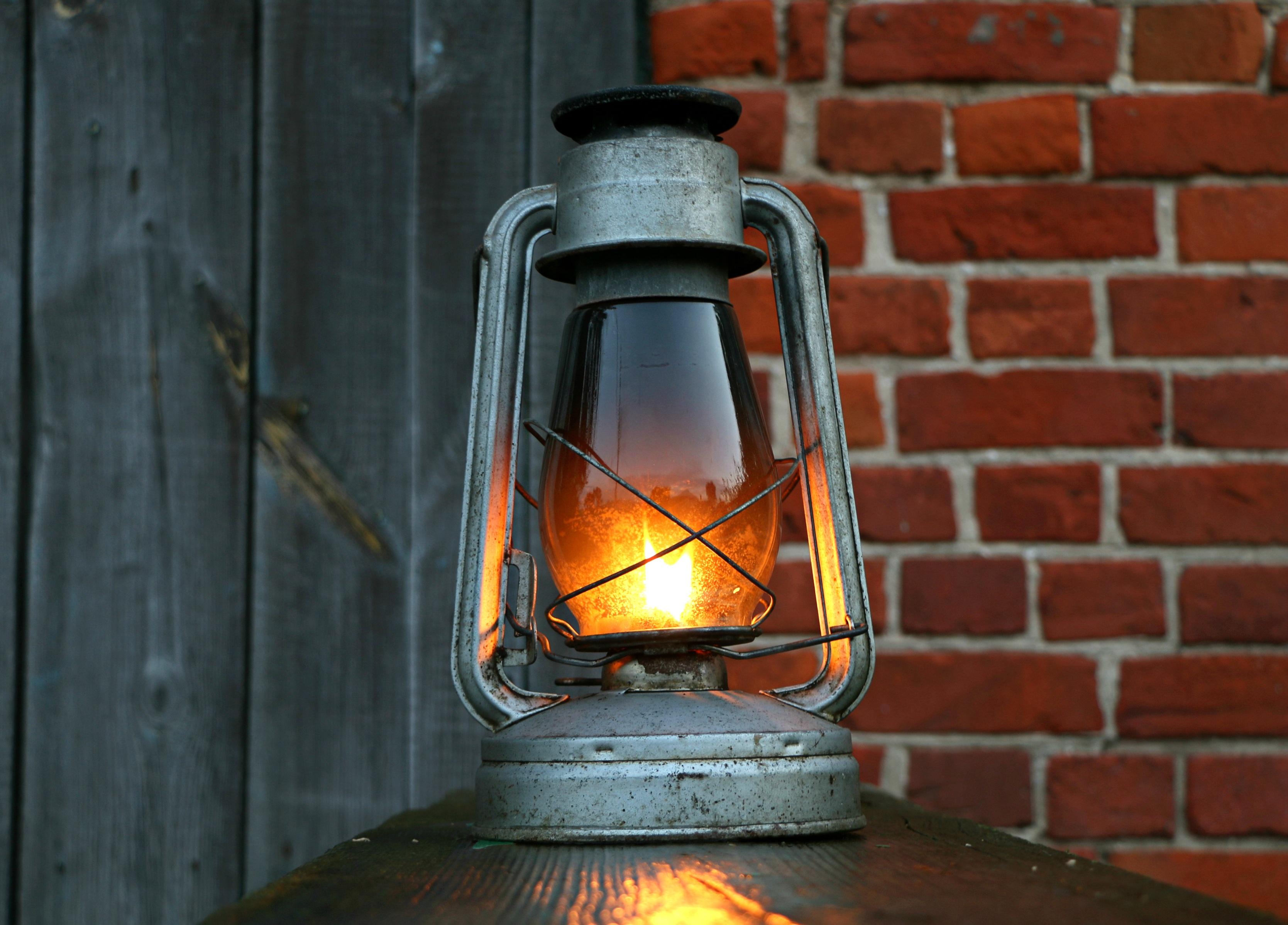 Vintage Evening Lantern Lamp