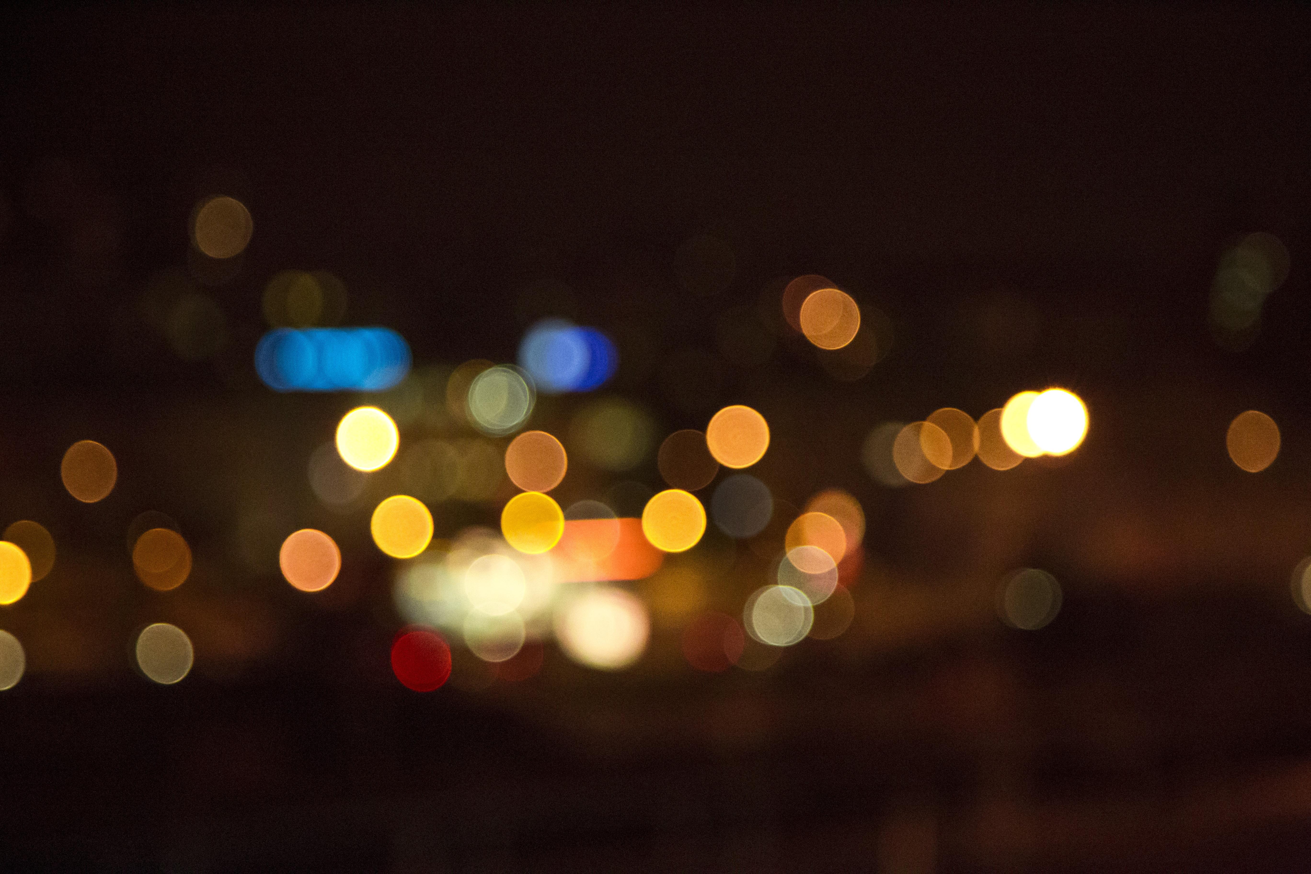 Blurred Lights Tumblr