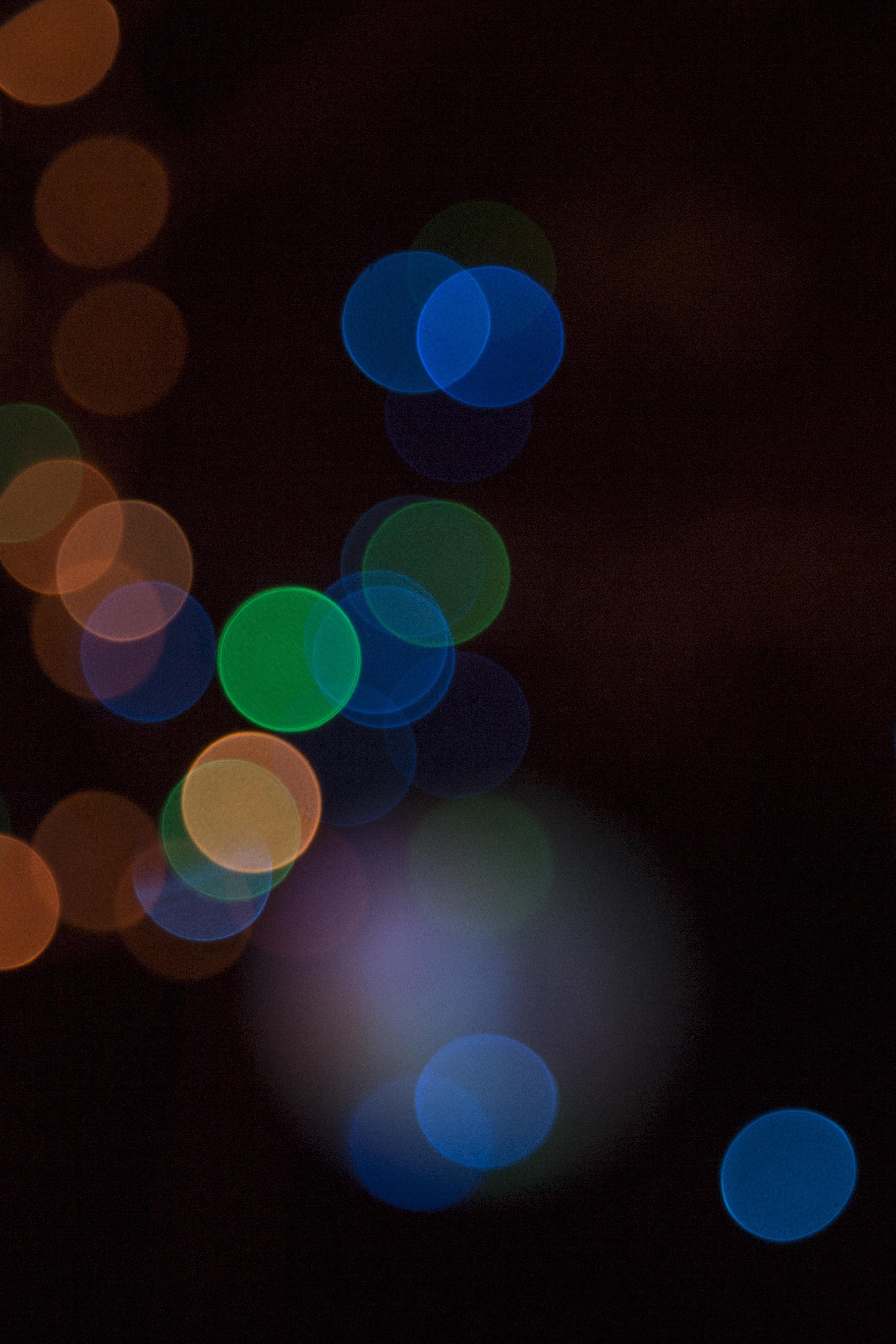 Free light bokeh blur evening line distance