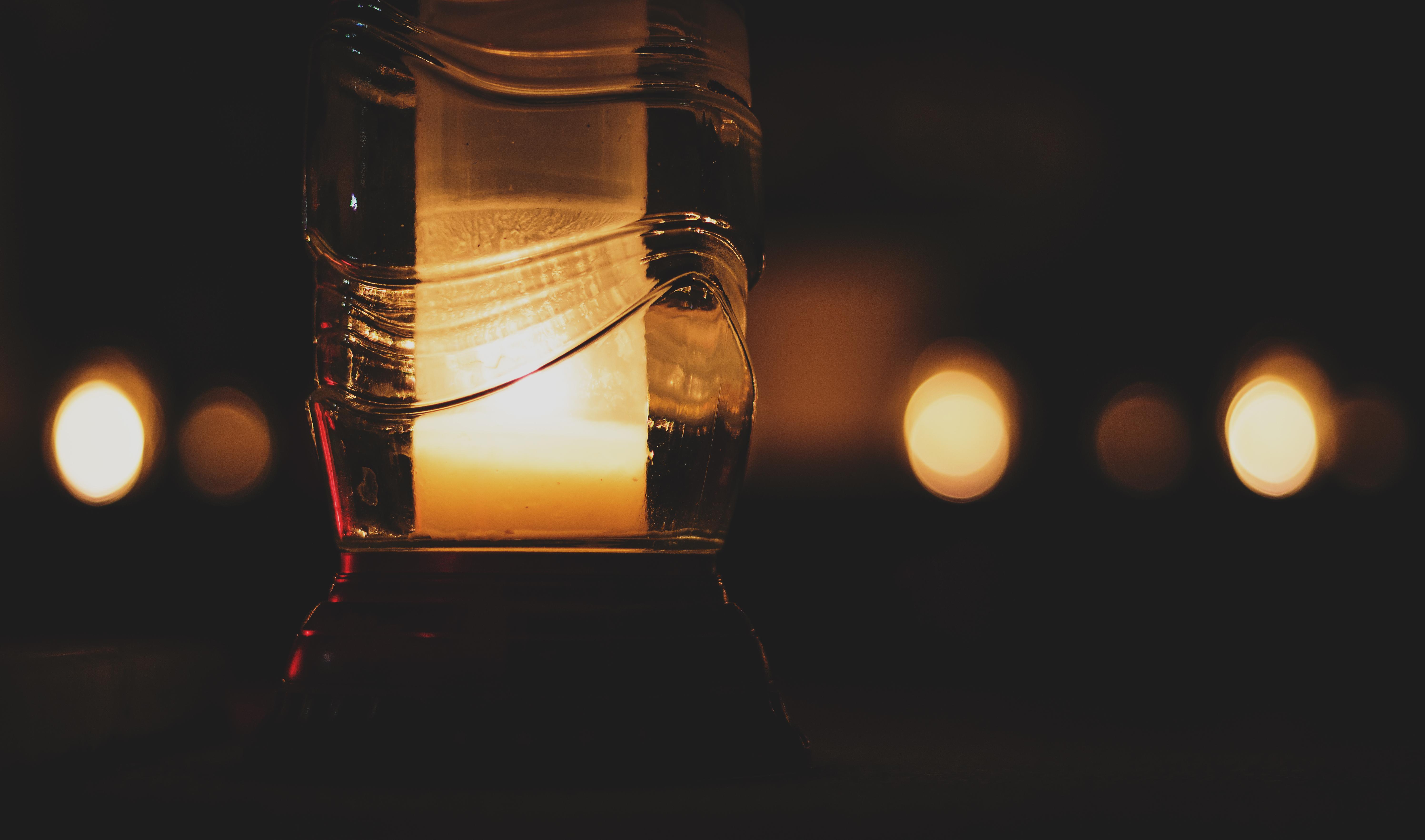 Free Images : bokeh, blur, night, sunlight, glass, dark ... for Night Lamp Photography  49jwn