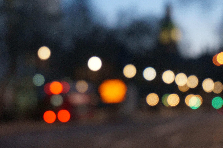 Light Bokeh Blur Night Sunlight Town City Dark Reflection Color Darkness Lighting Circle Lights Lanterns Blurry