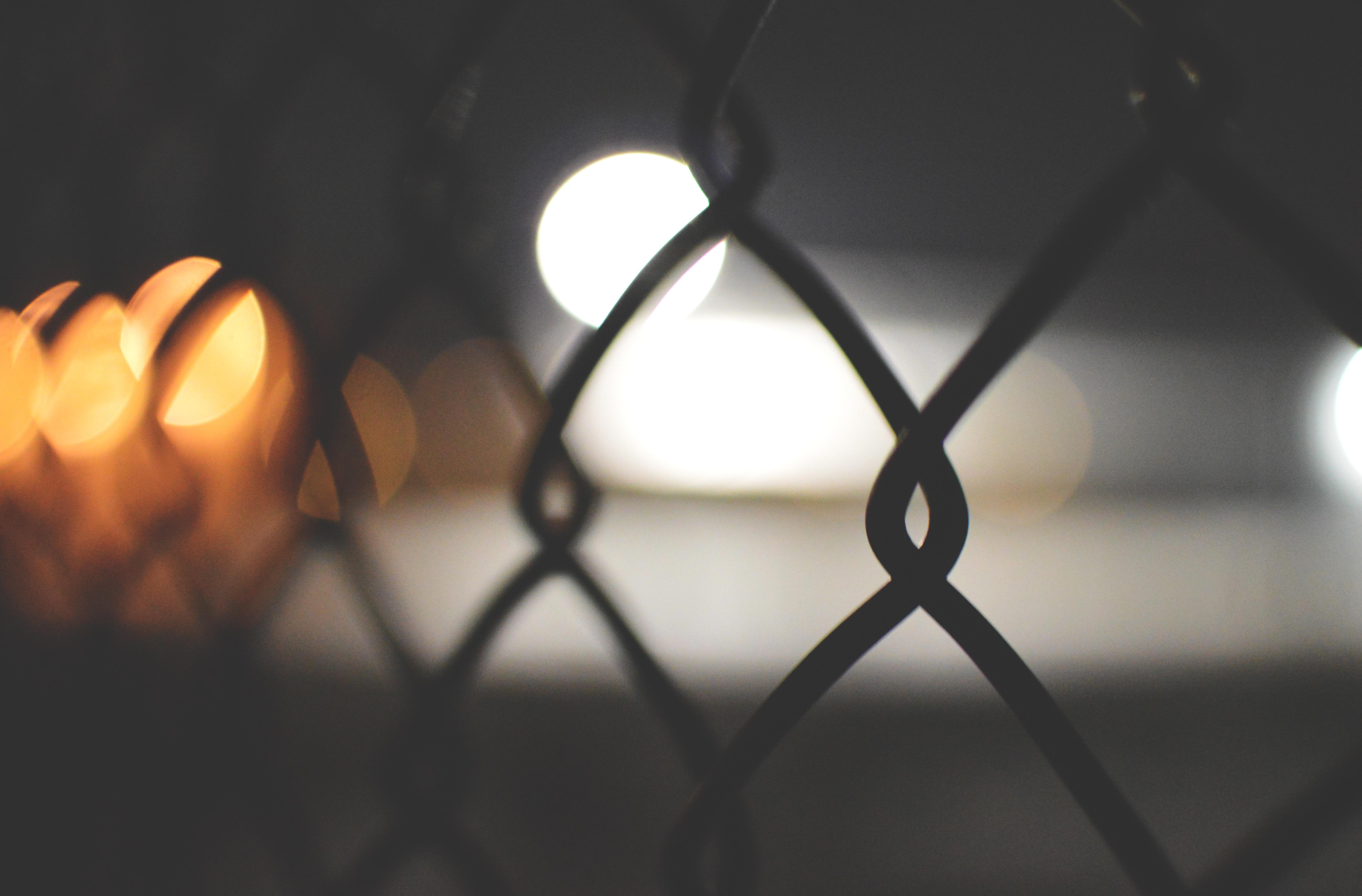 Kostenlose foto : Licht, Bokeh, Zaun, Sonnenlicht, Linie ...