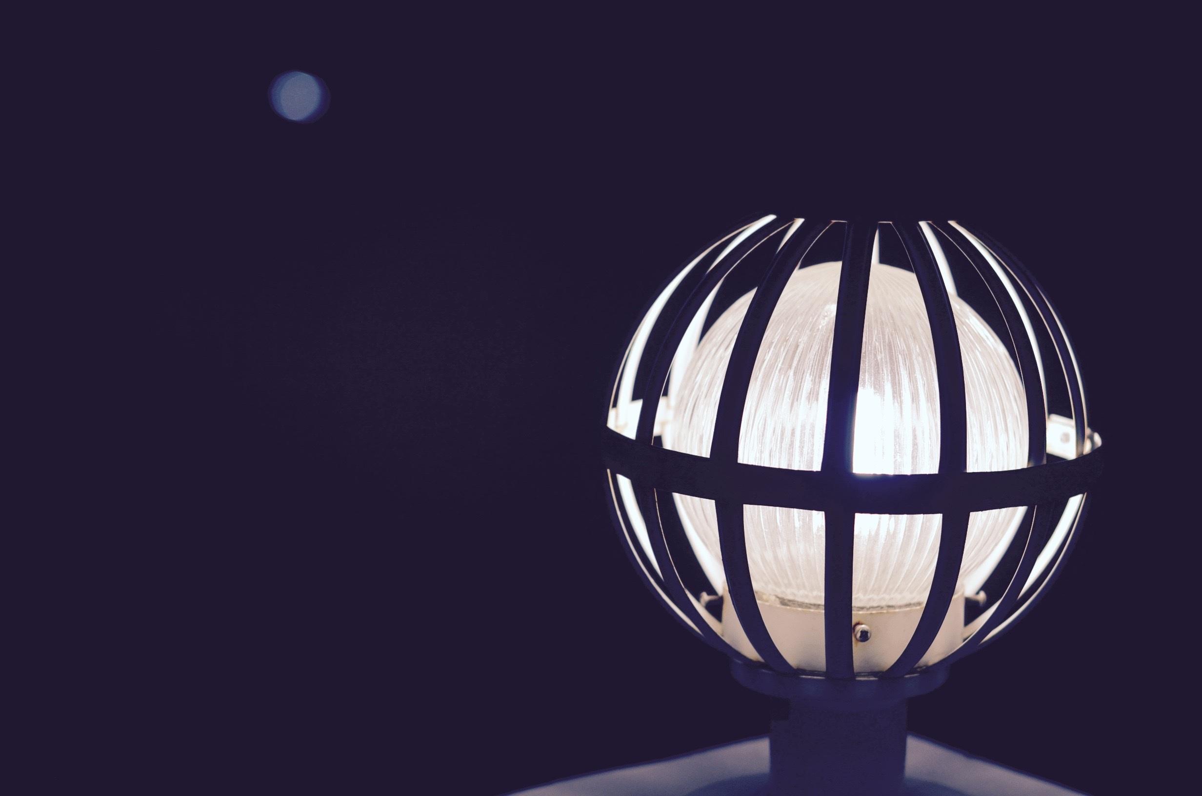 Kostenlose foto : Licht, Bokeh, Nacht-, Dachterrasse, Balkon, Lampe ...