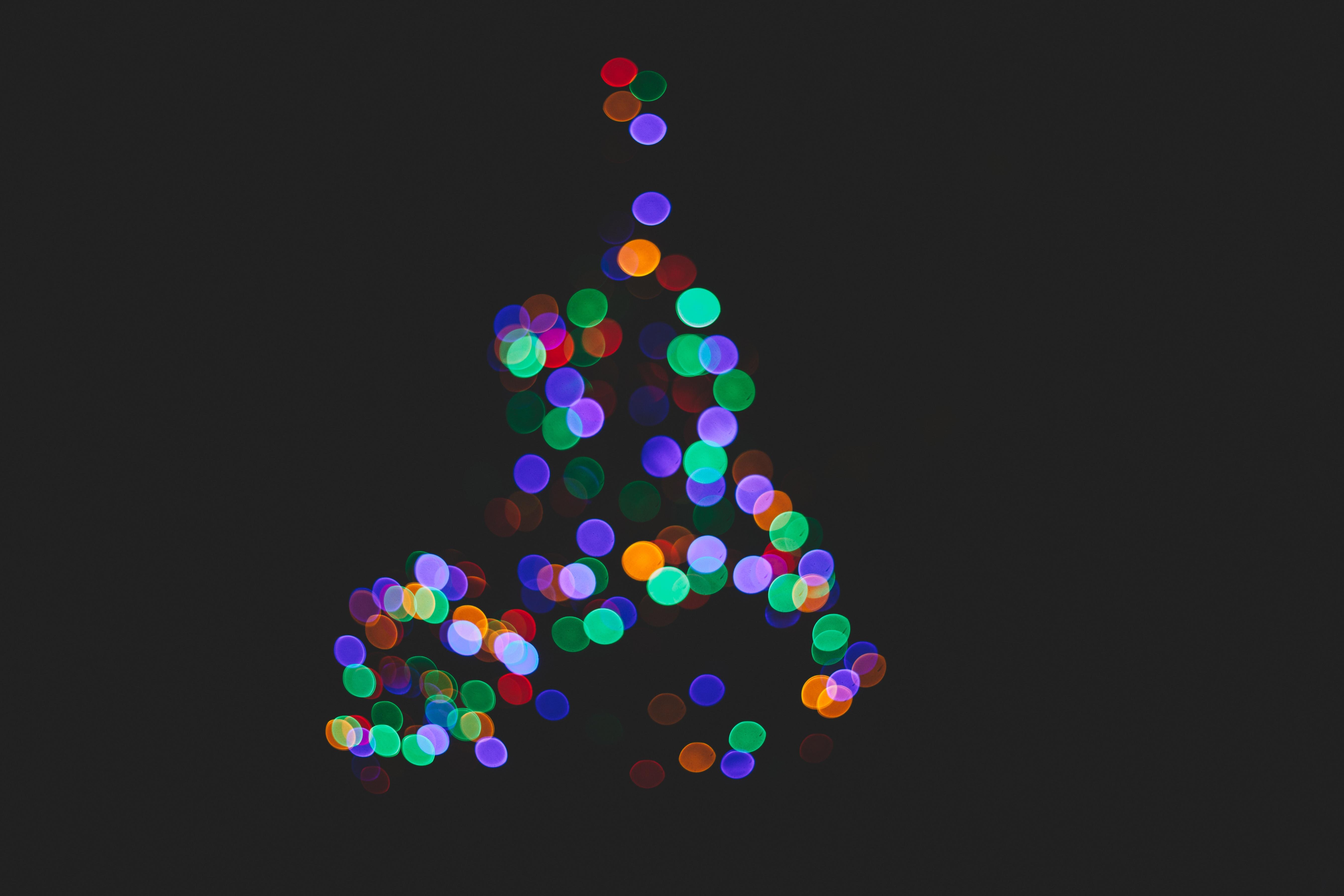 free images light bokeh petal pattern black decor christmas