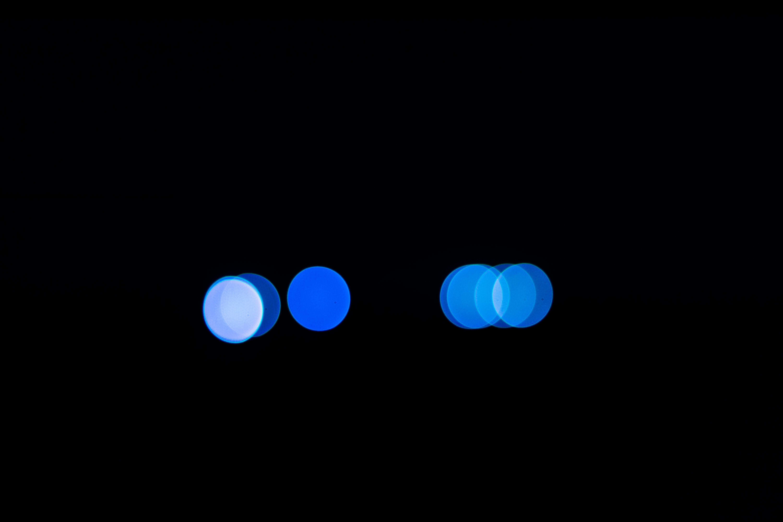 Gambar Cahaya Bokeh Langit Malam Suasana Kegelapan Biru