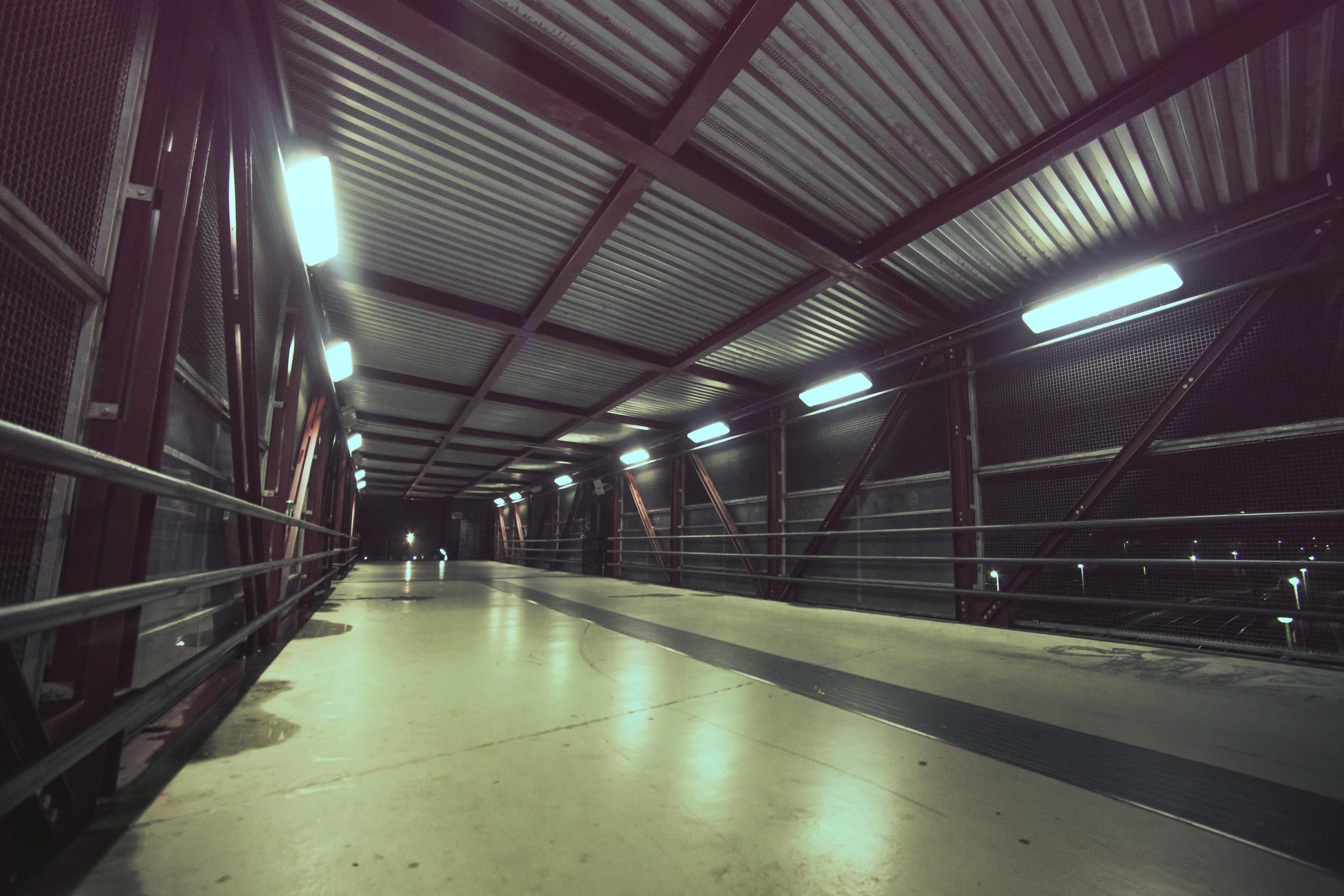 Kostenlose foto : Licht, Brücke, Stadt, städtisch, Tunnel, U-Bahn ...