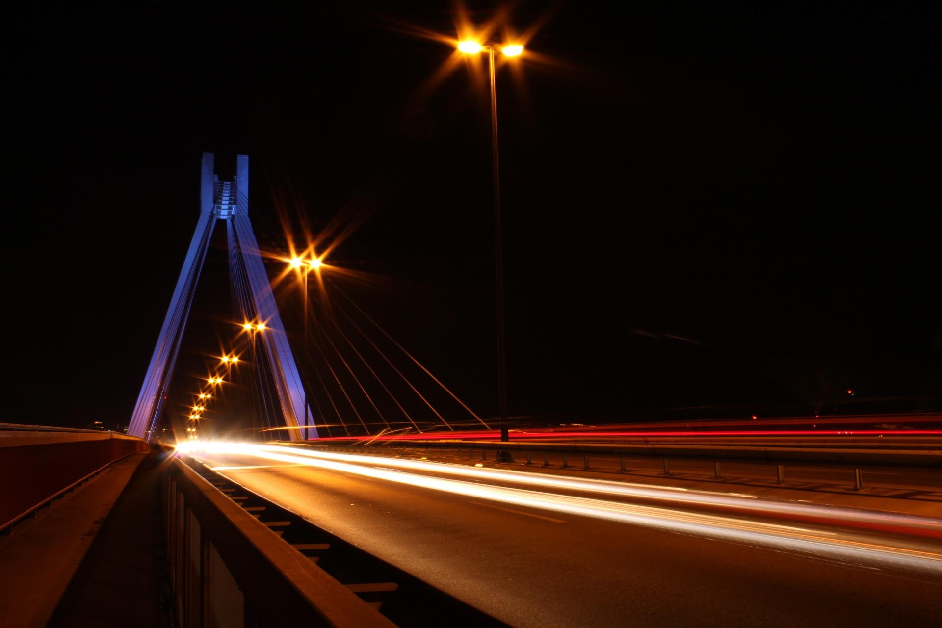 Gambar : jembatan, jalan, sinar matahari, Perkotaan, garis ... for gambar lampu menyala  110ylc