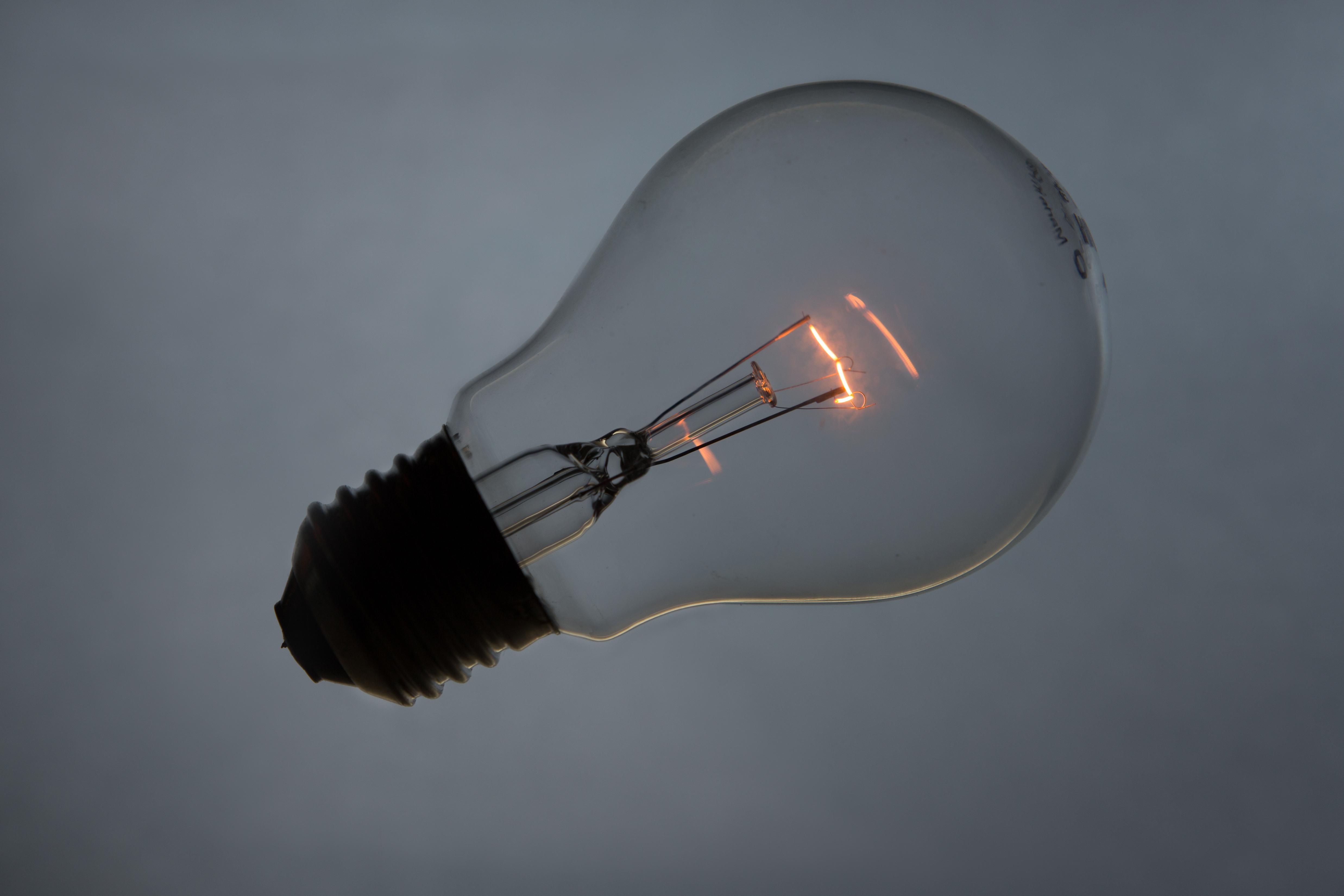 Картинки с лампой накаливания
