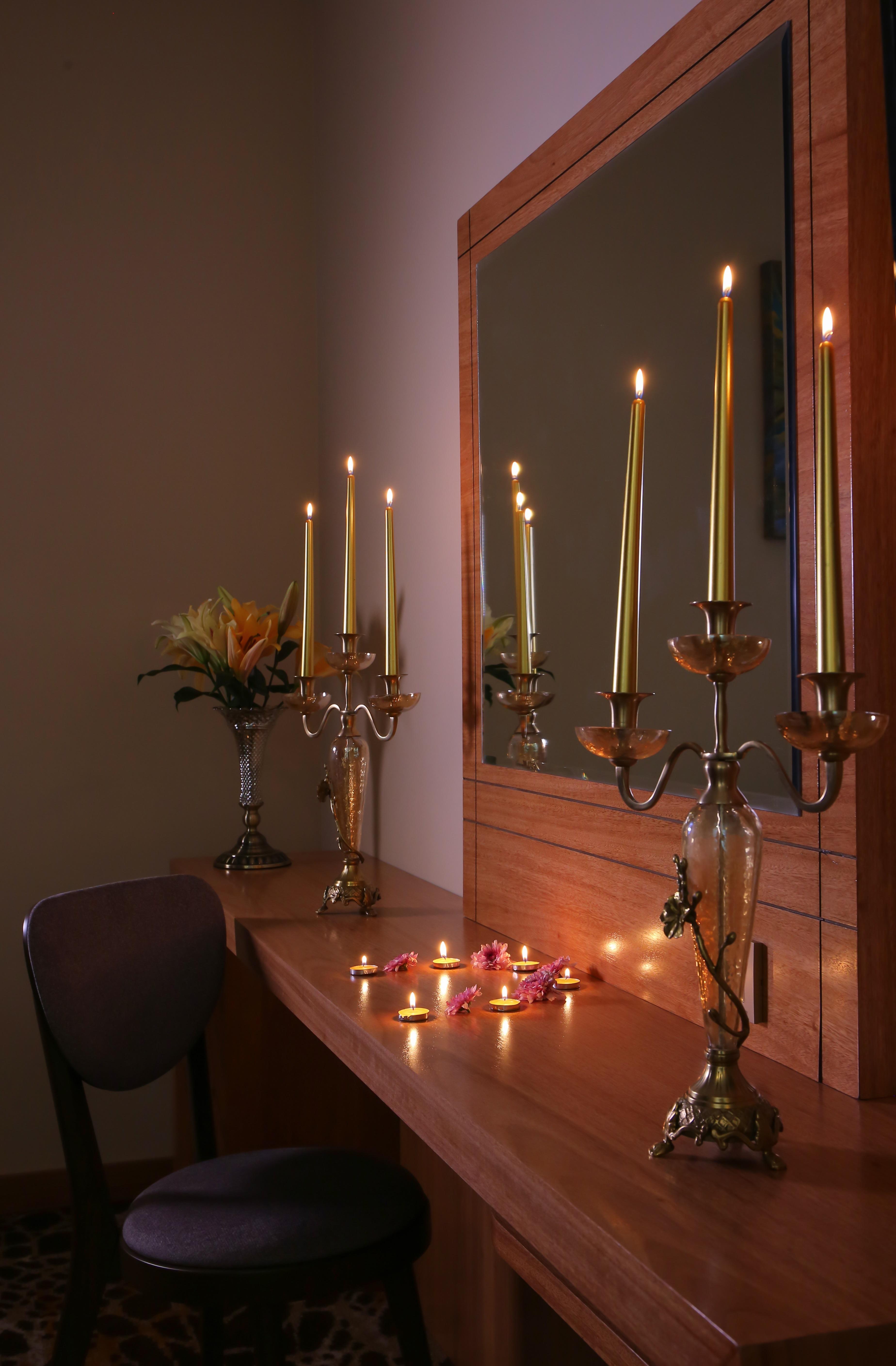 Lumière Bougie éclairage Bougeoir Chambre Design Du0027intérieur Table Bougie  Du0027unité Luminaire Vacances