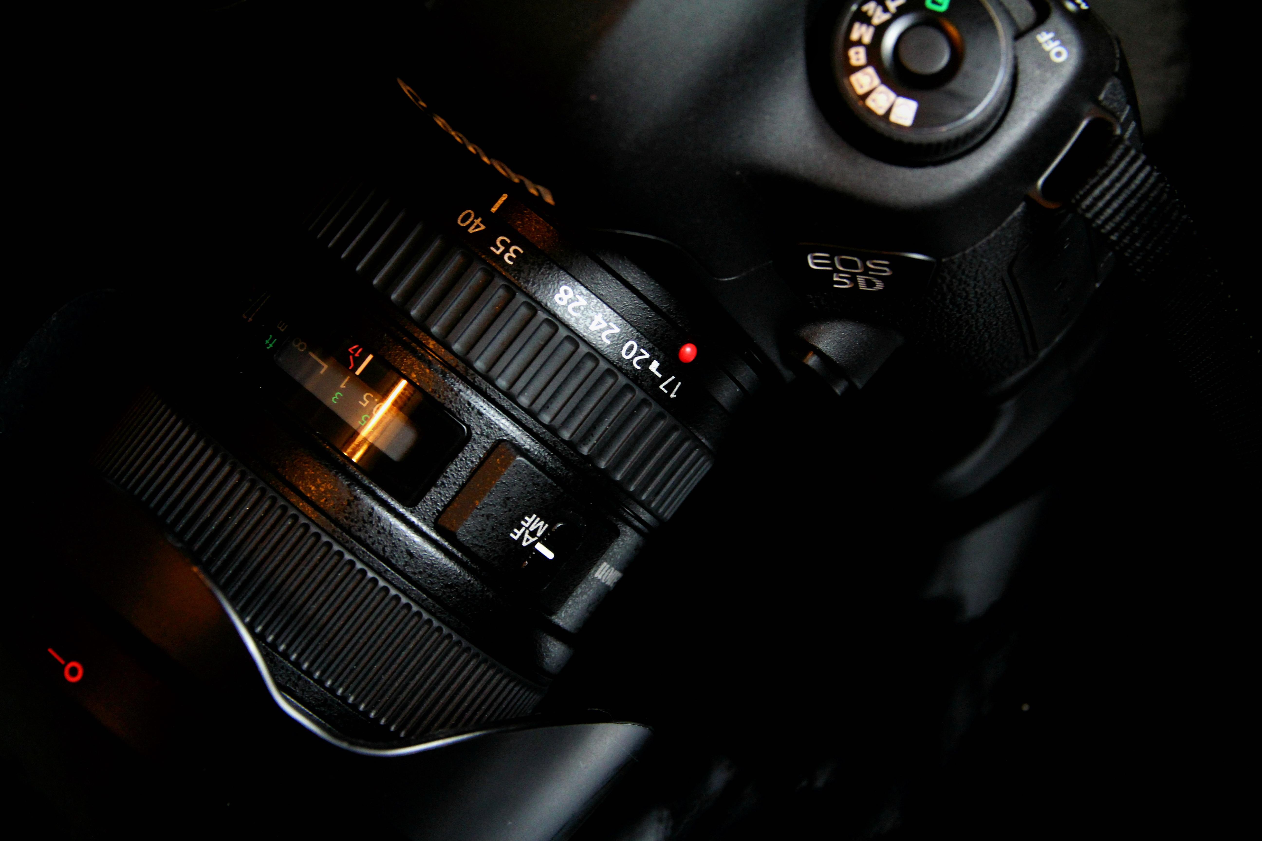 Light Car Camera Airport Vehicle Canon Darkness Black Reflex Digital Objective 5d3 Xie