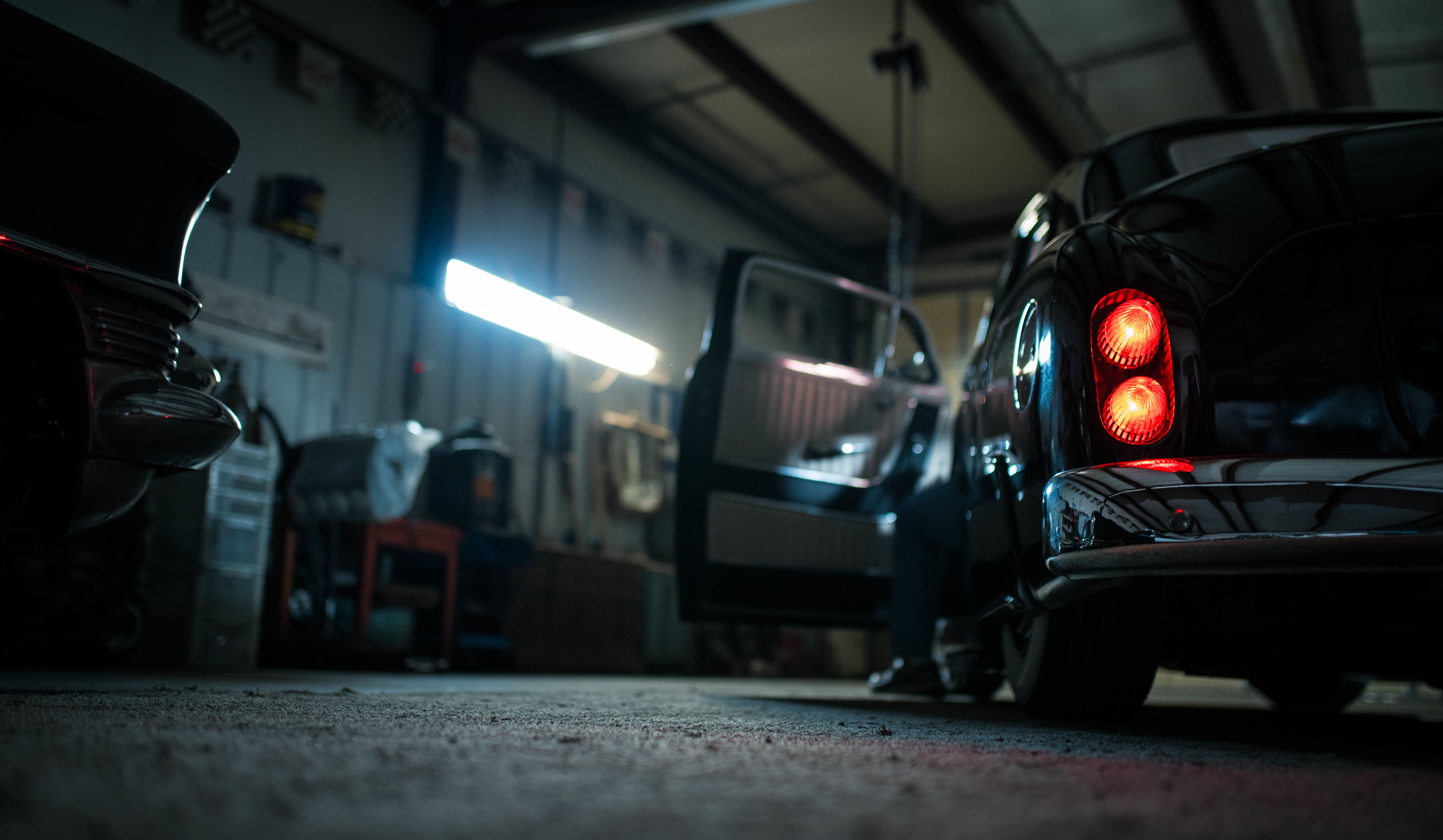 Free Images Light Night Transport Garage Darkness