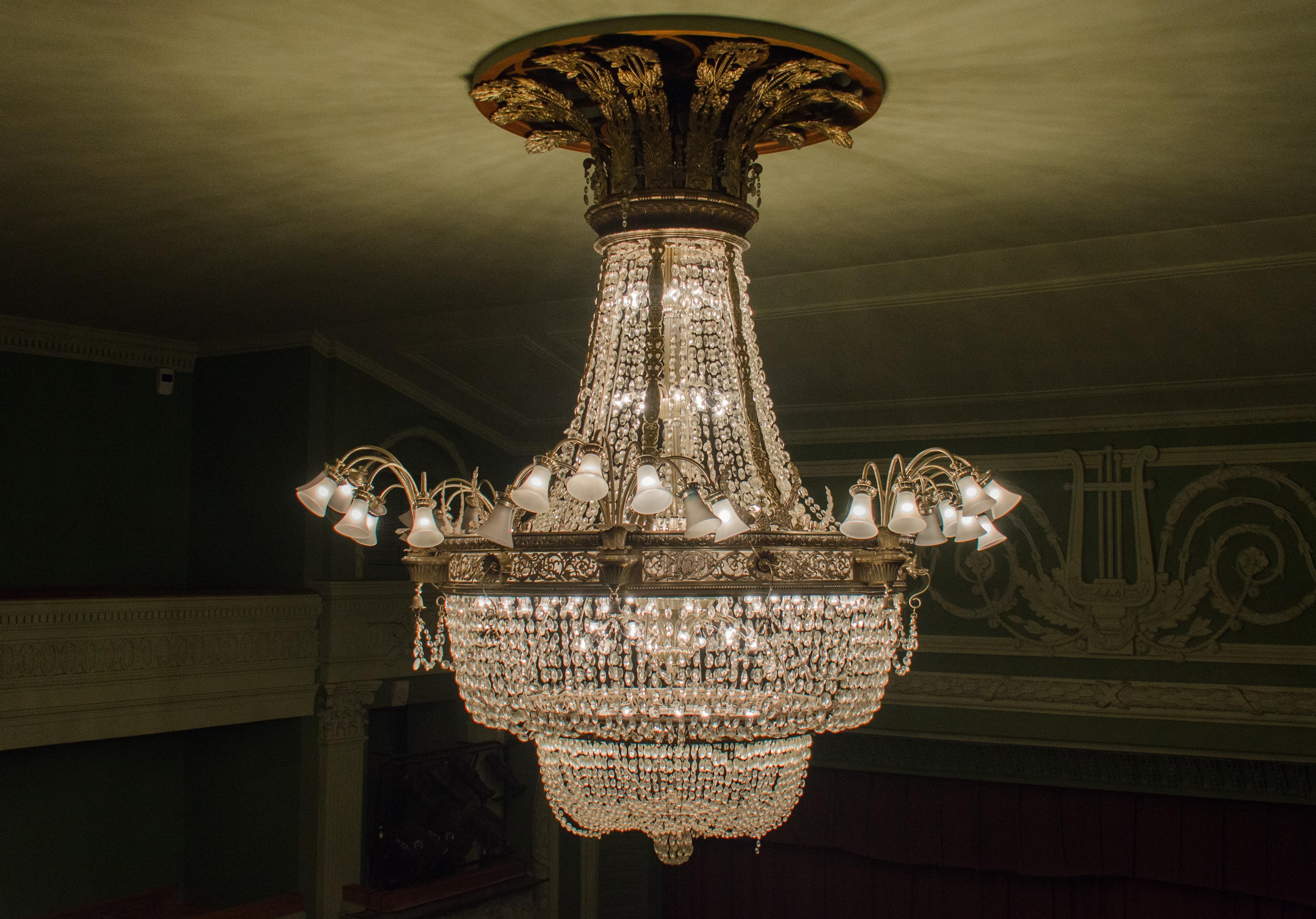 Fotos gratis ligero columna amarillo iluminaci n - Imagenes lamparas de techo ...