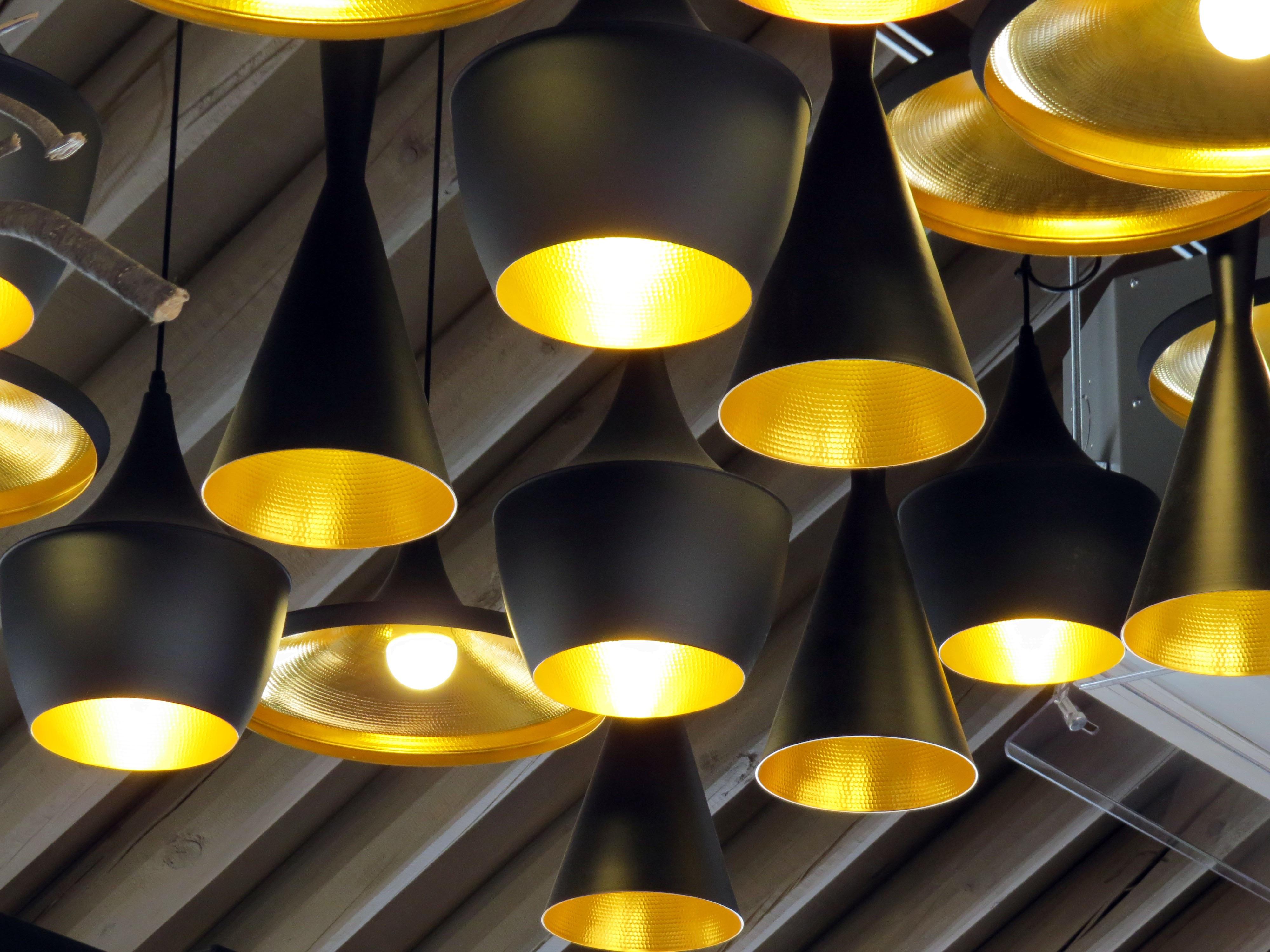 ligero techo amarillo iluminacin luces lmpara techos etc artefactos de iluminacin
