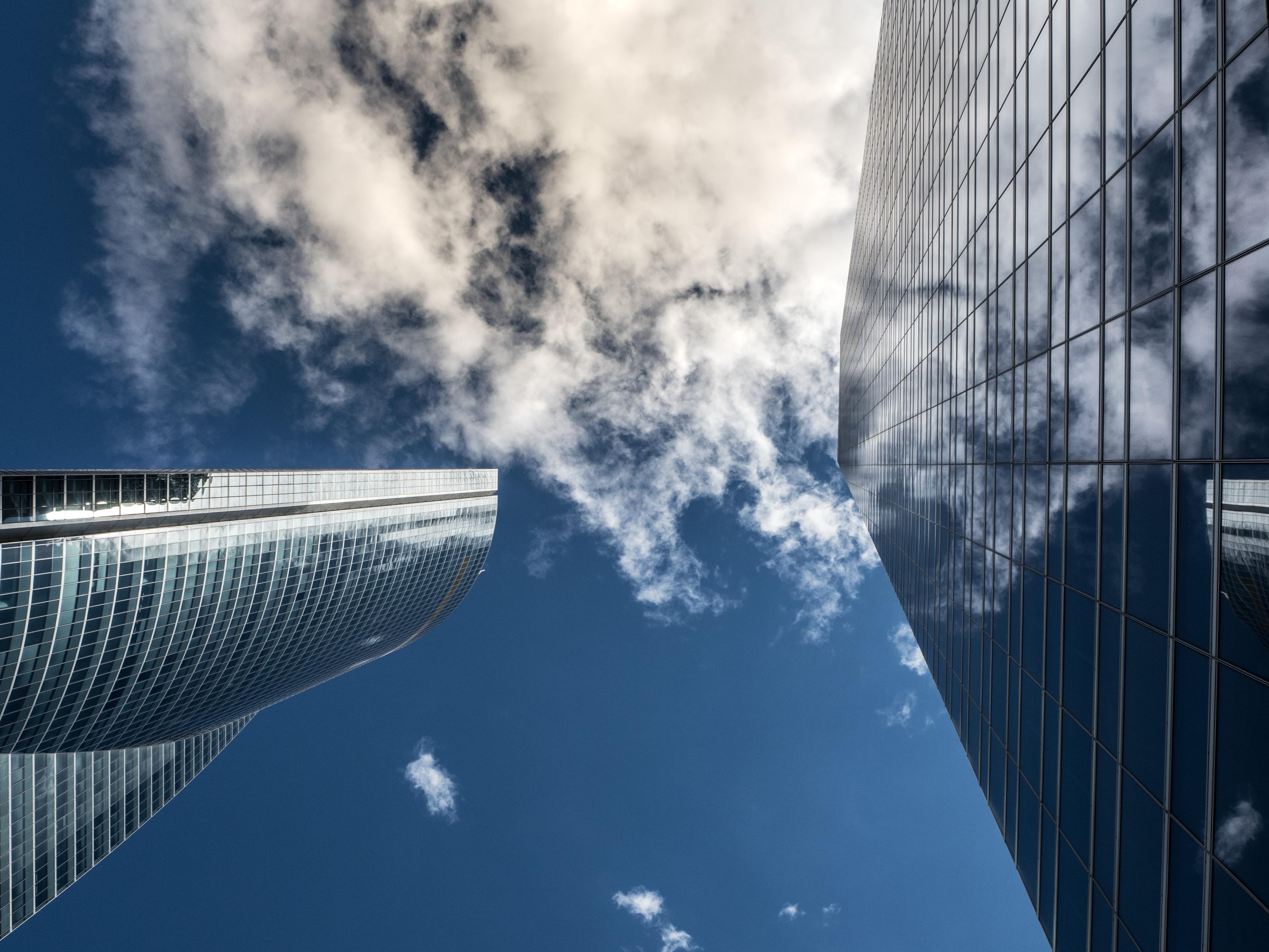 Стекло небоскреб отражение без смс