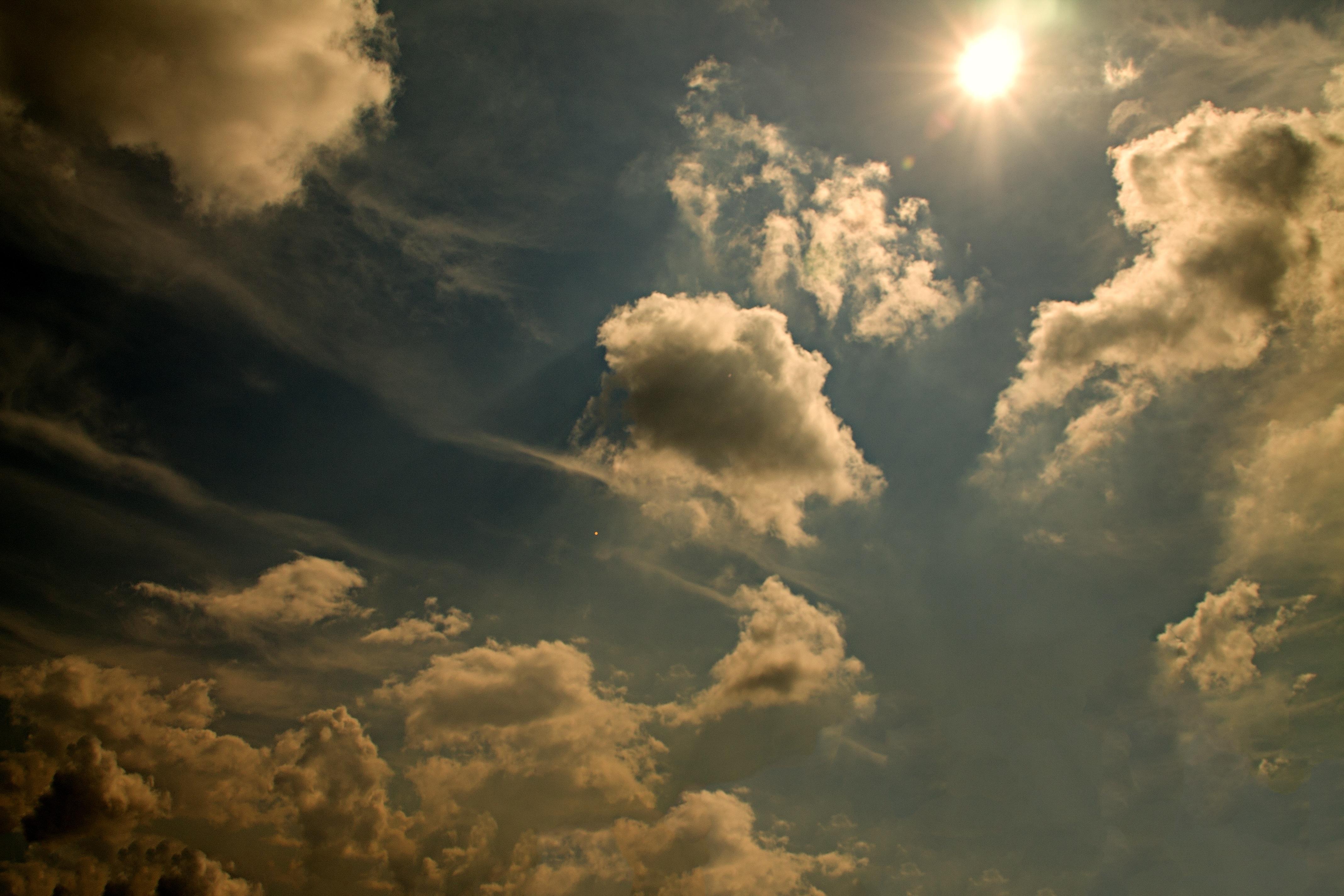 картинки небо свет украшением