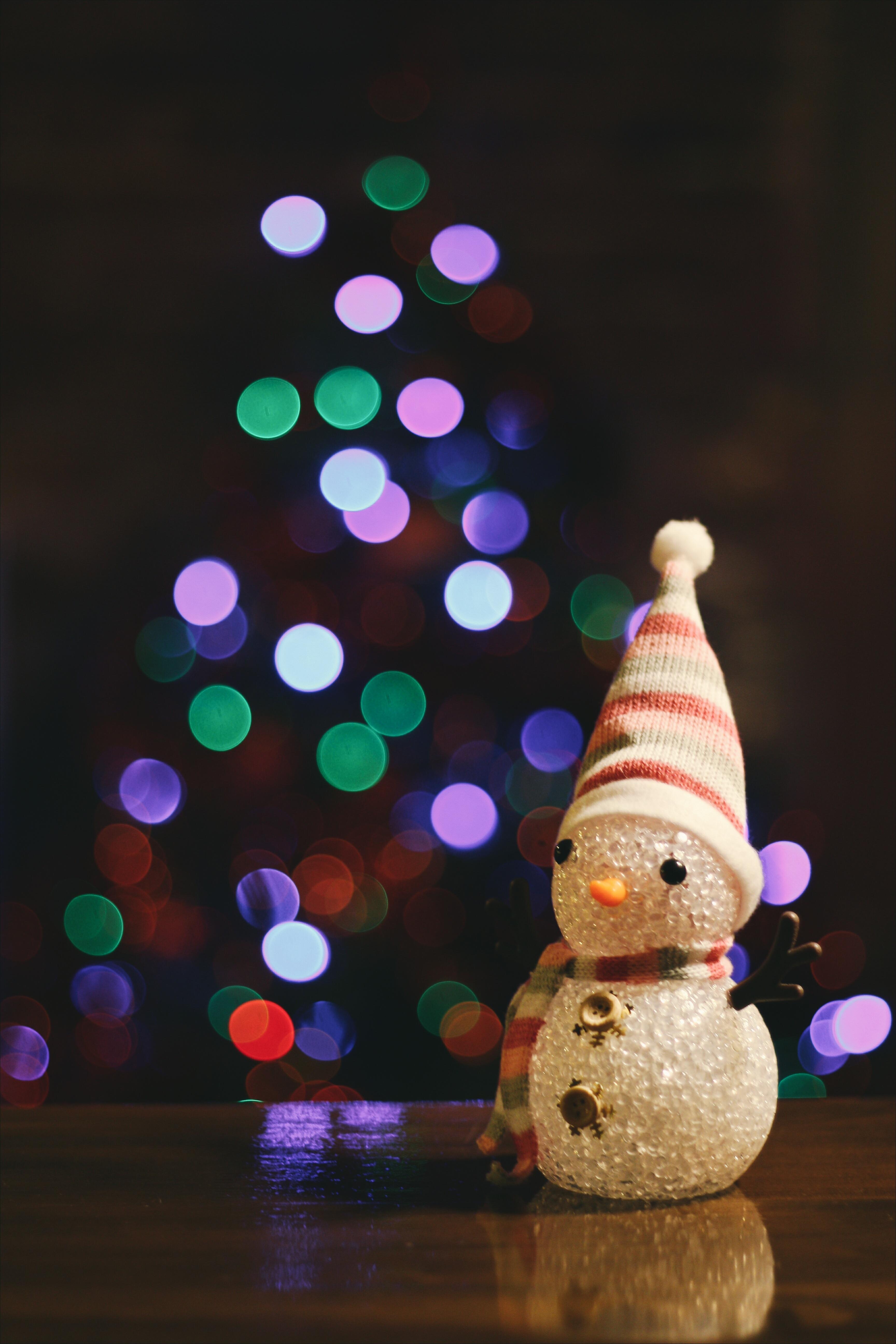 light color christmas lighting christmas tree christmas decoration snowman christmas lights