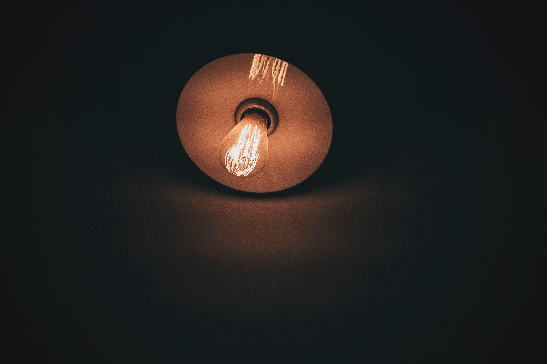 Free Dark Darkness Lamp Light Bulb Lighting