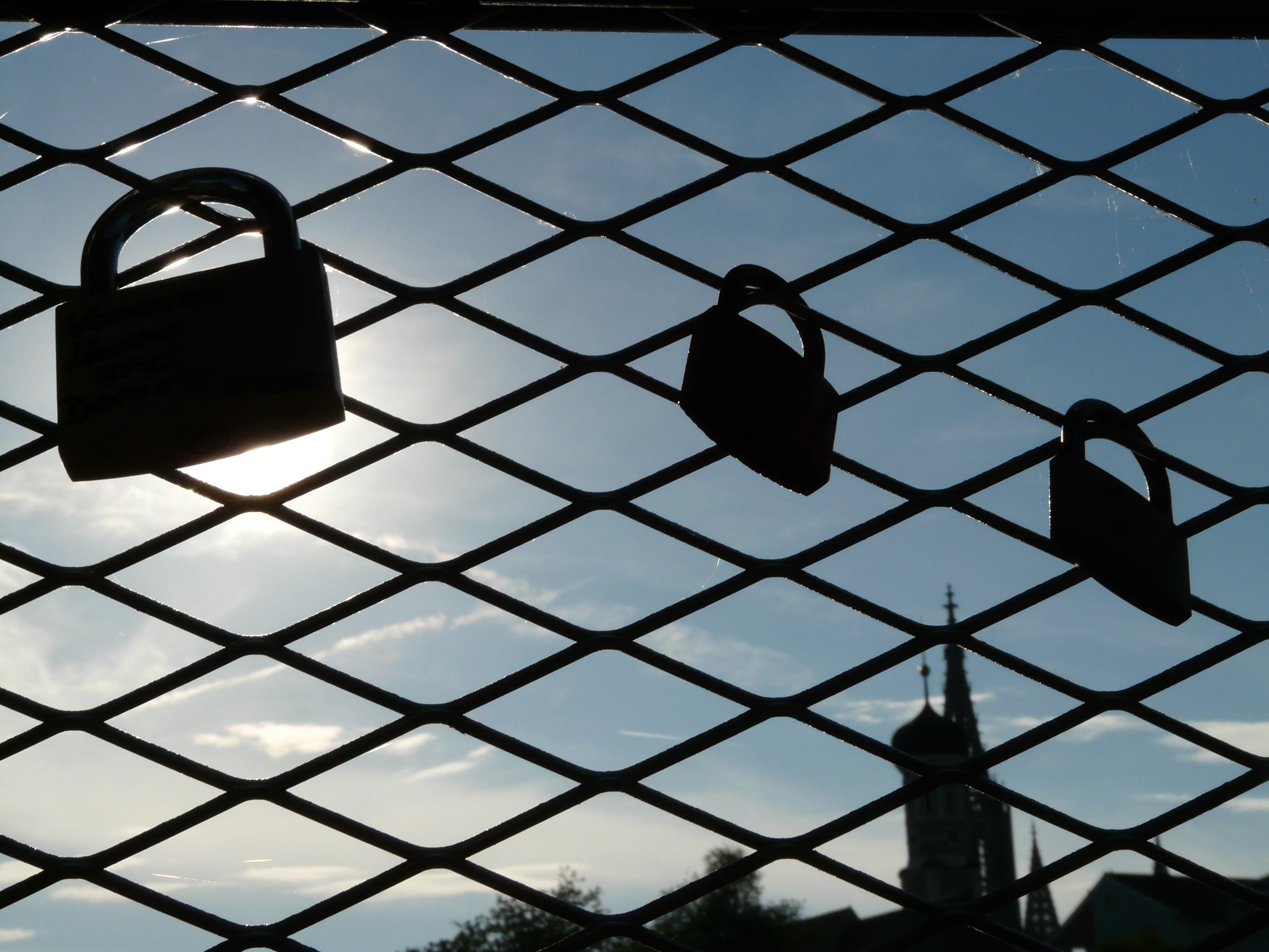 Free Images Light Fence Window Line Reflection Symbol Blue And Gate Love Friendship Black Lighting Circle Symmetry Shape Eternity