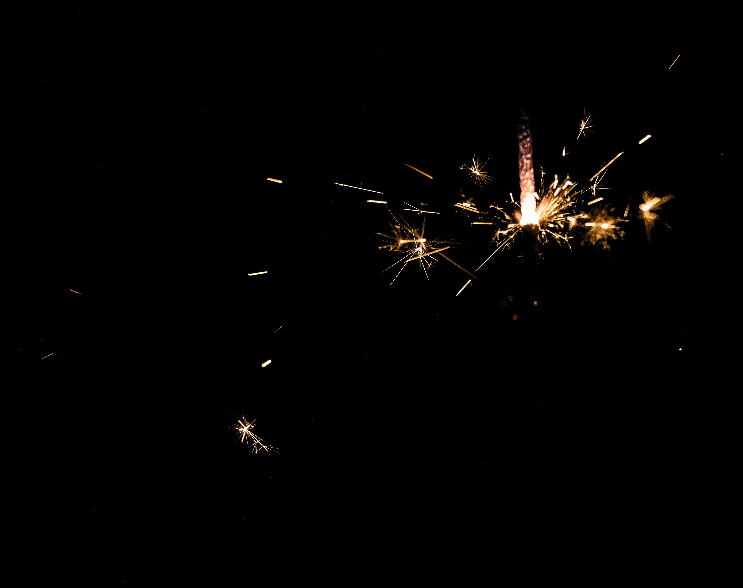 Free Images : light, fireworks, darkness, sparkler, sky